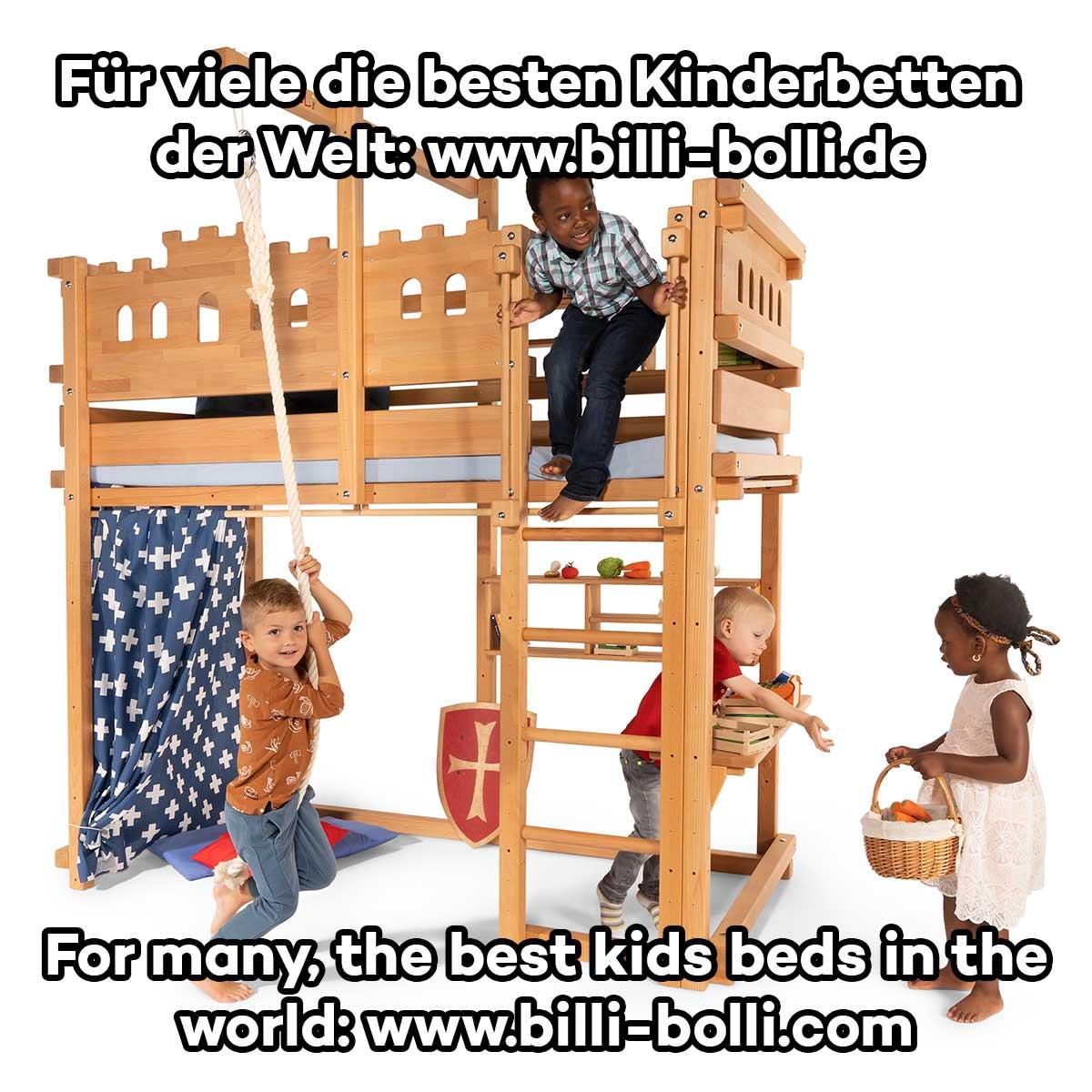 Cama Alta Ajustable Al Crecimiento Muebles Infantiles De Billi Bolli # Disenos Vor Muebles