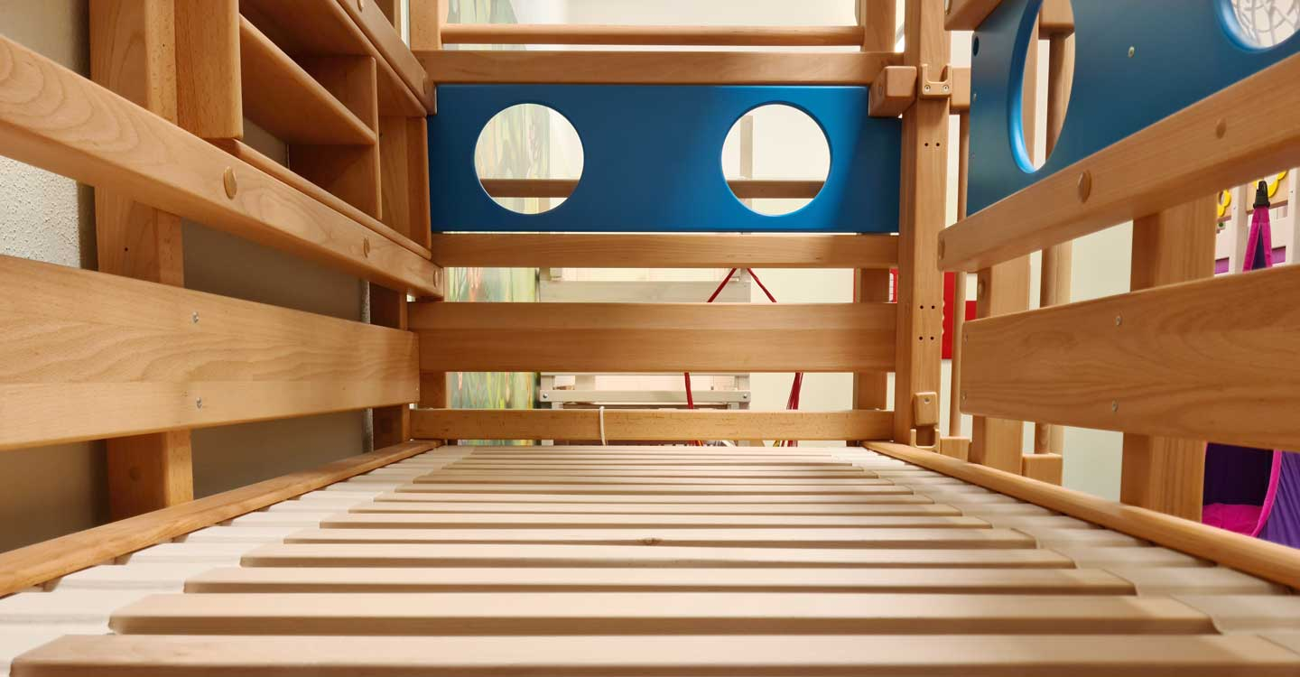 Our slatted bed bases: strength and flexibility in one