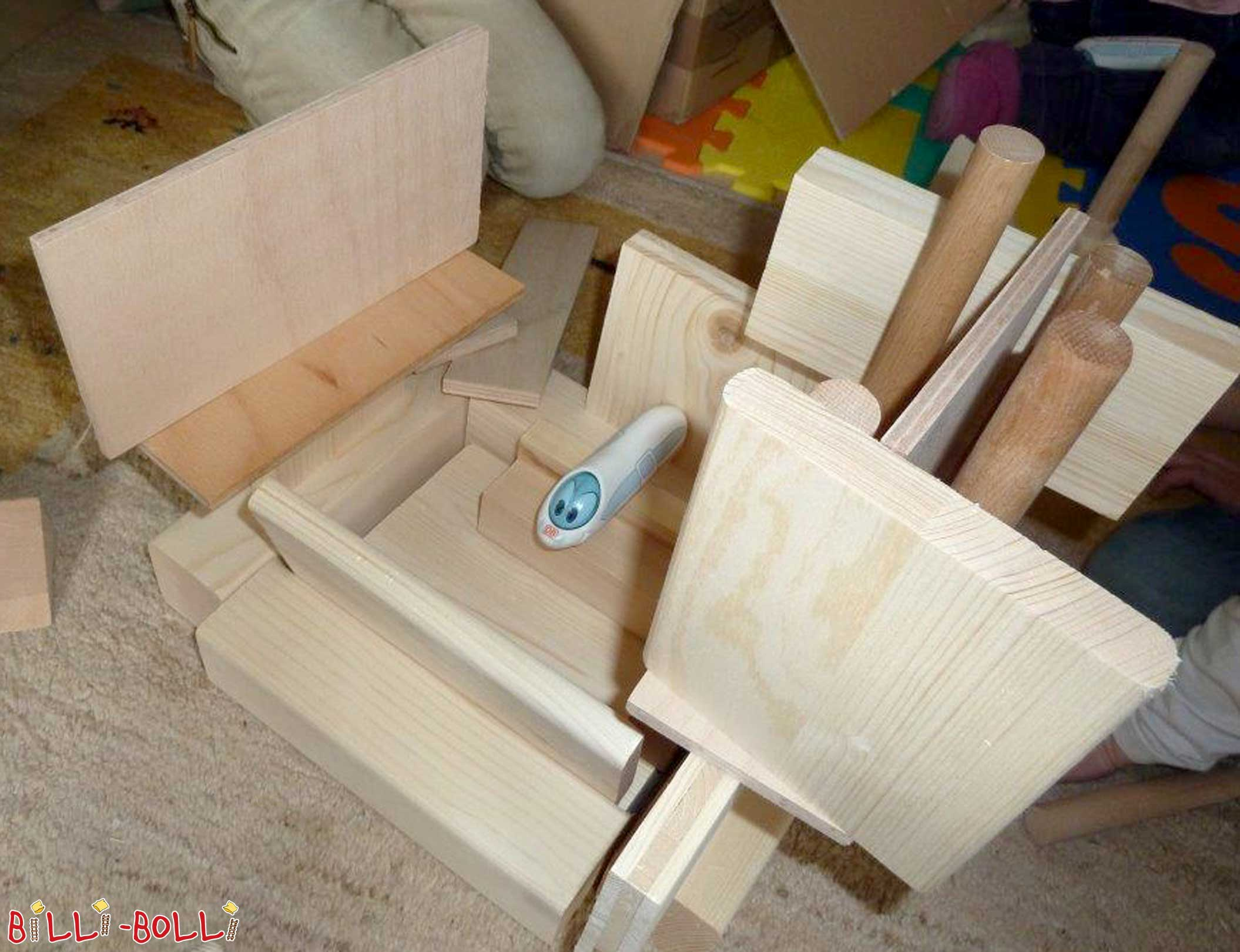 Free handicraft wood for kindergartens (Tips & Ideas)