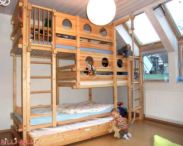 The Triple Bunk Bed Type 2B.