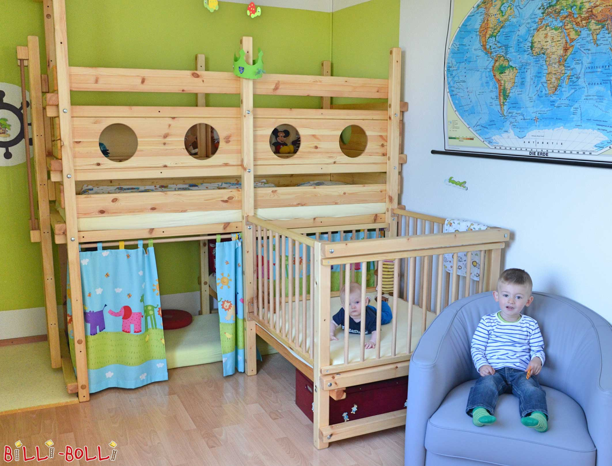 Letto a castello ad angolo | Mobili per bambini da Billi-Bolli