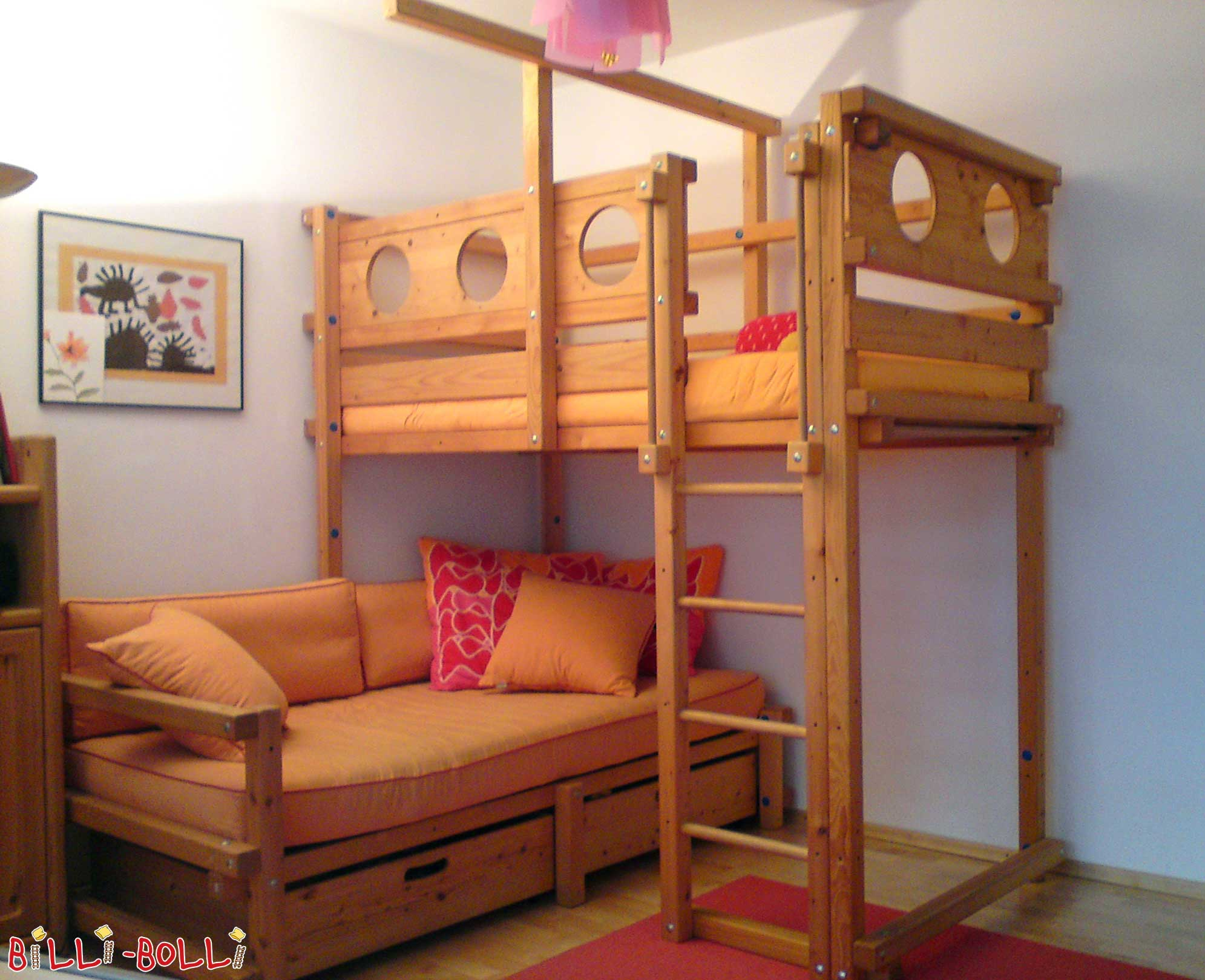 Corner bunk bed billi bolli kids furniture Loft bed plans