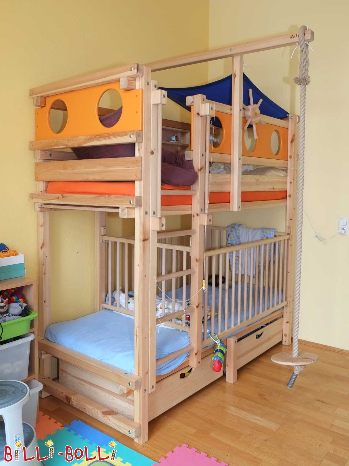 bunk bed billi bolli kids furniture. Black Bedroom Furniture Sets. Home Design Ideas