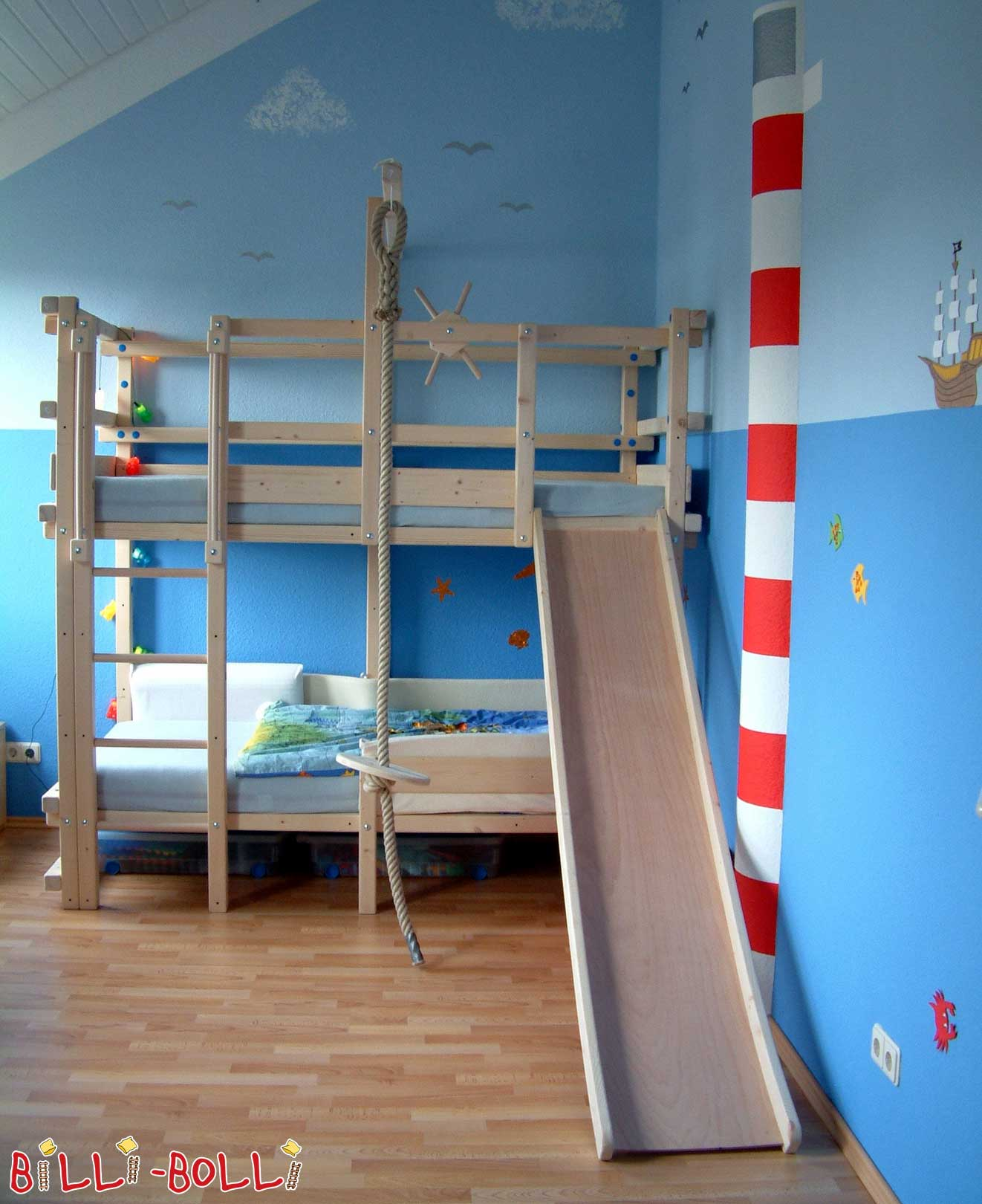 Slide For The Loft Bed More Fun In The Kids Room Billi Bolli