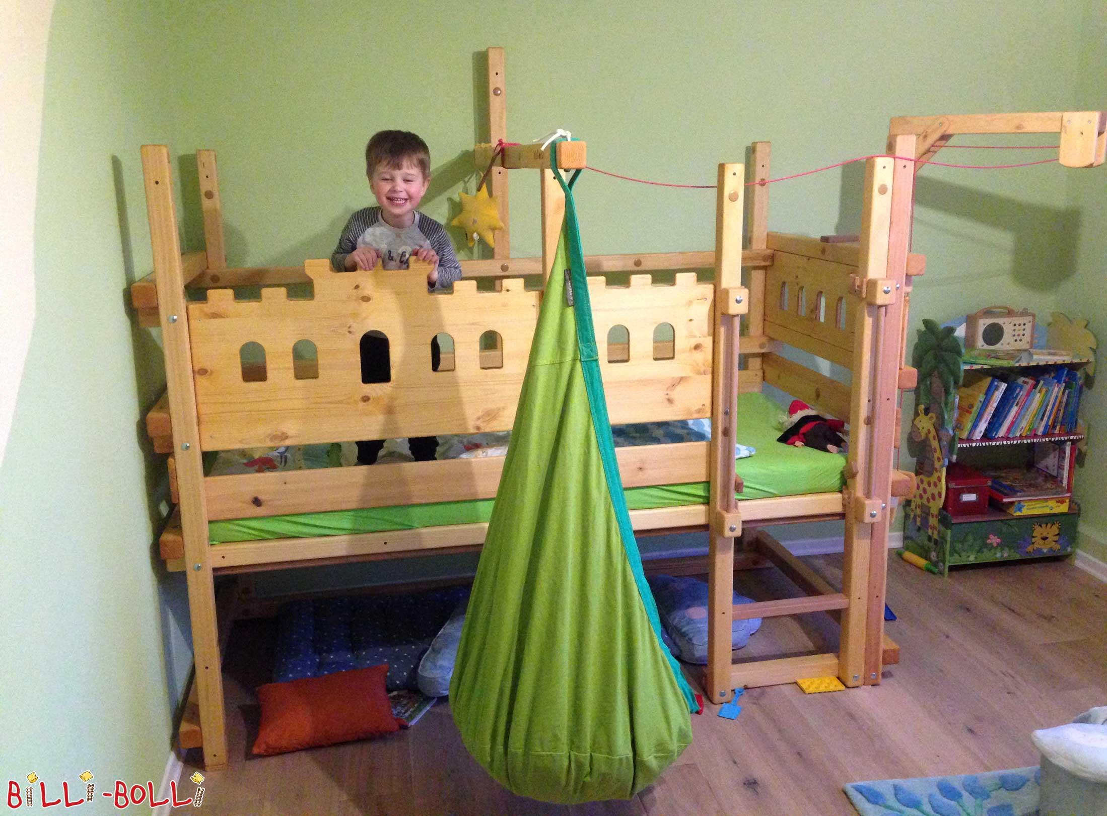 lit mezzanine bas meubles pour enfants billi bolli. Black Bedroom Furniture Sets. Home Design Ideas