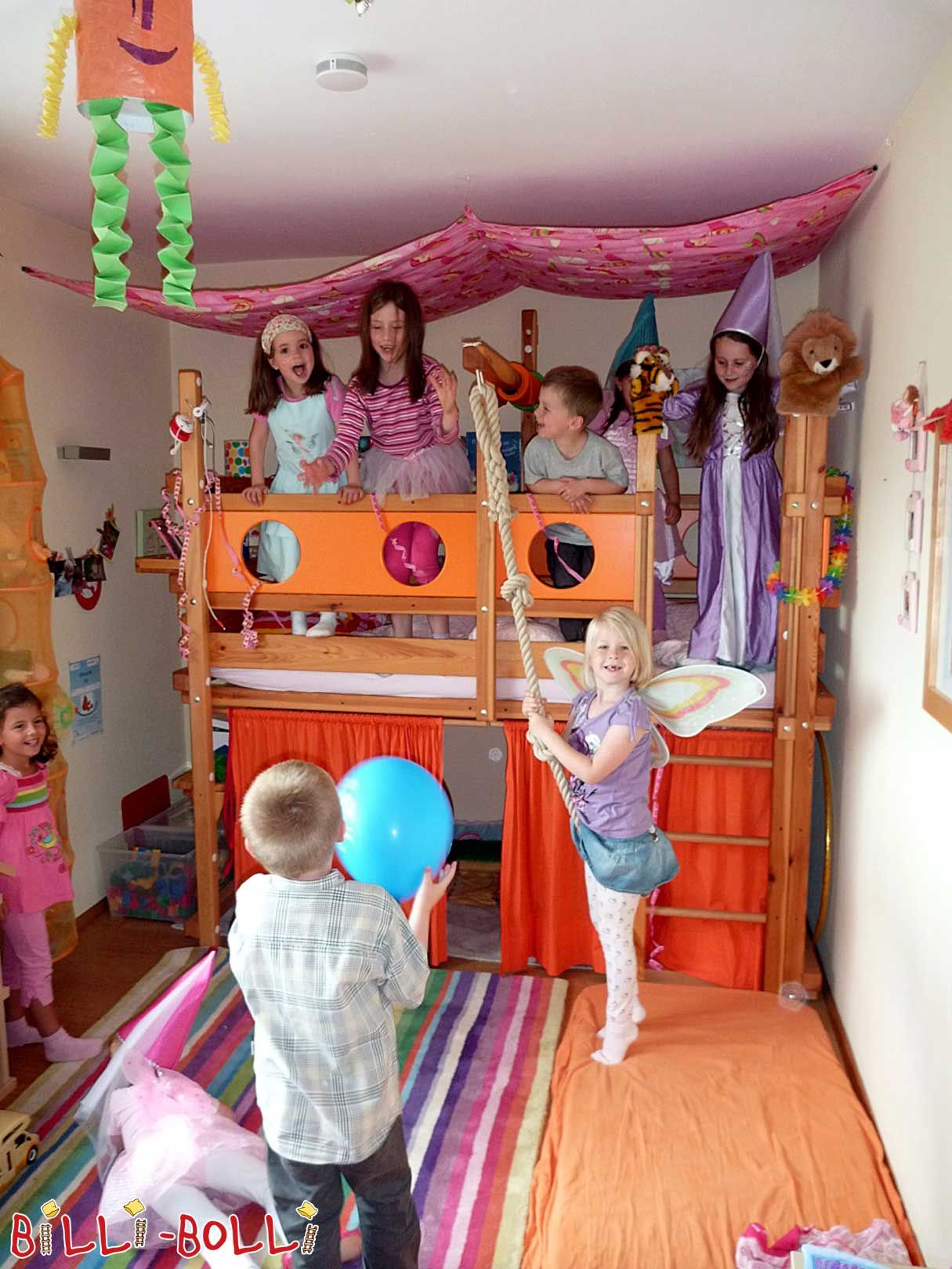Loft Bed Adjustable by Age