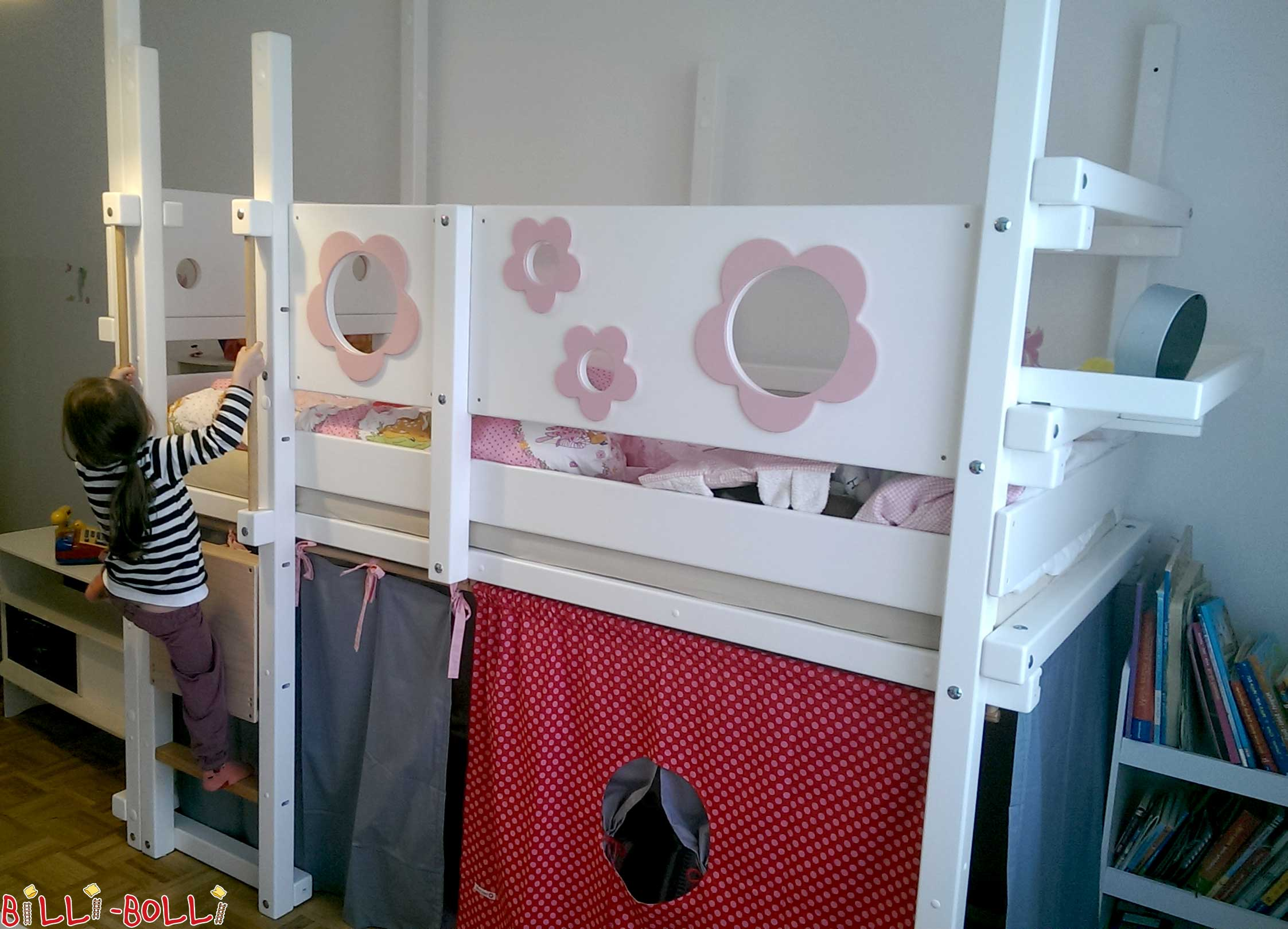 loft bed adjustable by age billi bolli kids furniture. Black Bedroom Furniture Sets. Home Design Ideas