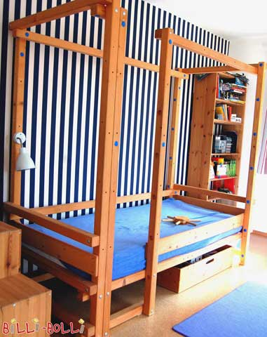 Image 1: Loft Bed Adjustable by Age