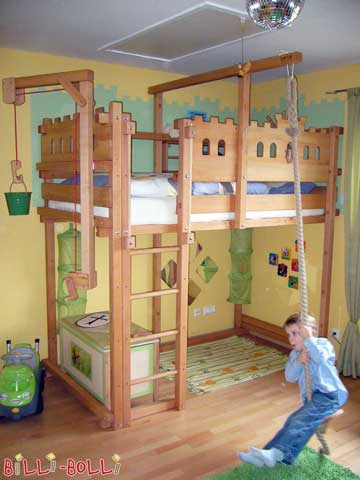Image 4: Loft Bed Adjustable by Age
