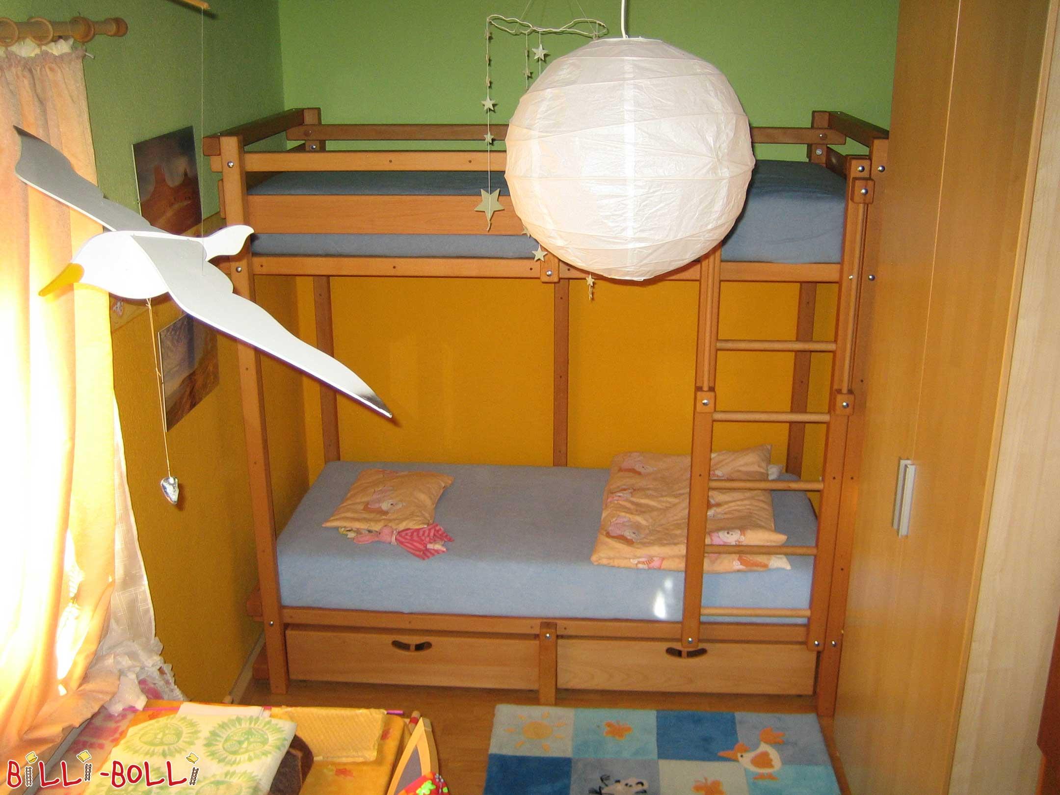 lit superposé pour pré-ados | meubles pour enfants billi-bolli