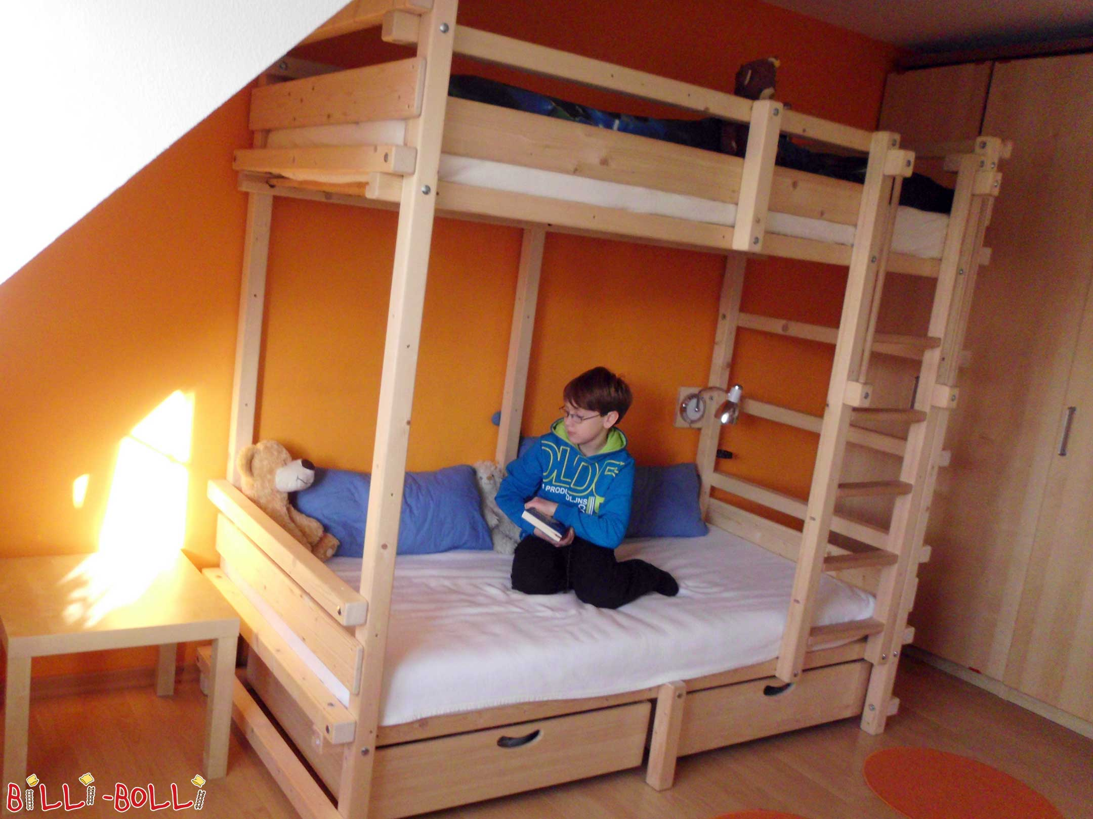 Letti A Castello Per Bambini Economici : Letto a castello per ragazzi mobili per bambini da billi bolli