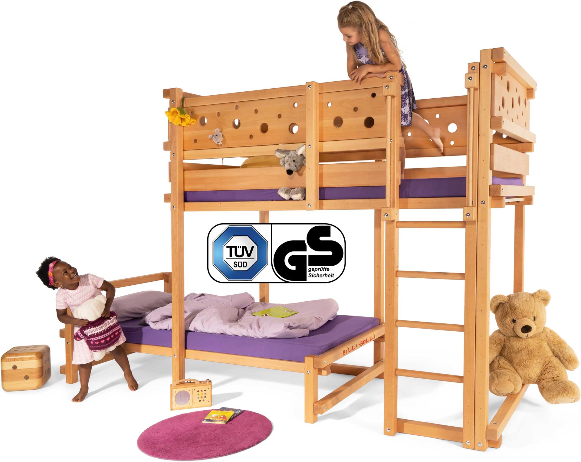 loft beds and bunk beds for kids from billi bolli. Black Bedroom Furniture Sets. Home Design Ideas