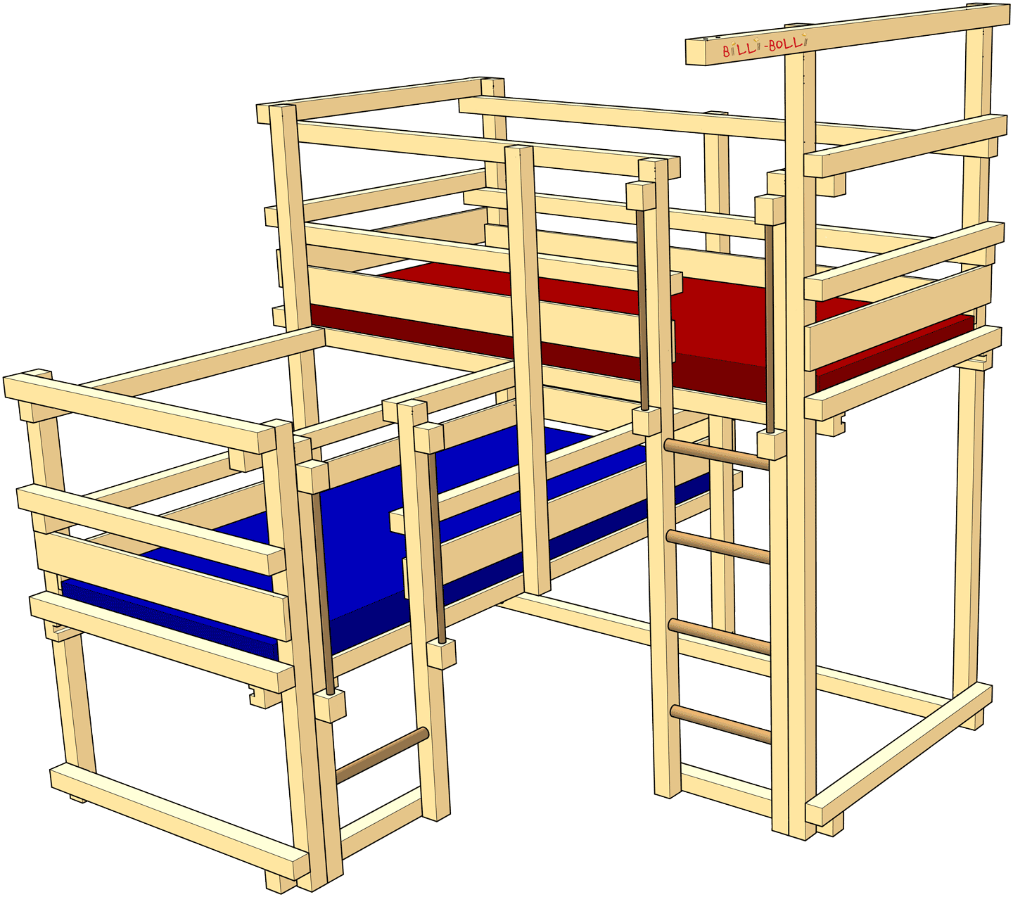 Both-Up Beds, Type 1A