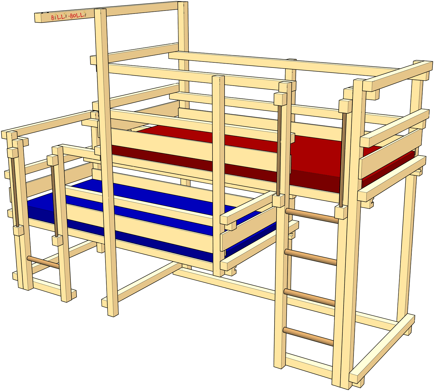 Both-Up Beds, Type 1B