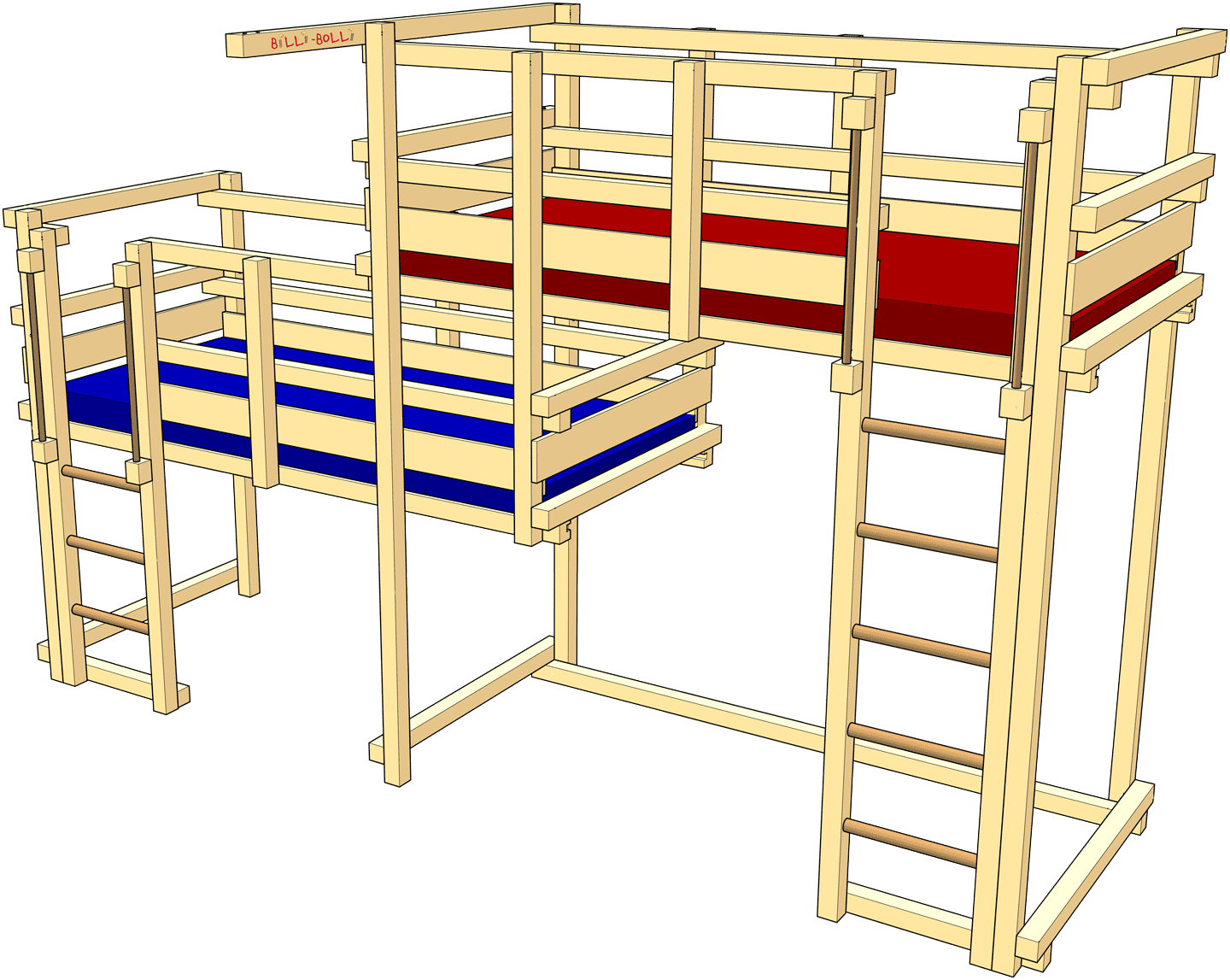 Both-Up Beds, Type 2C