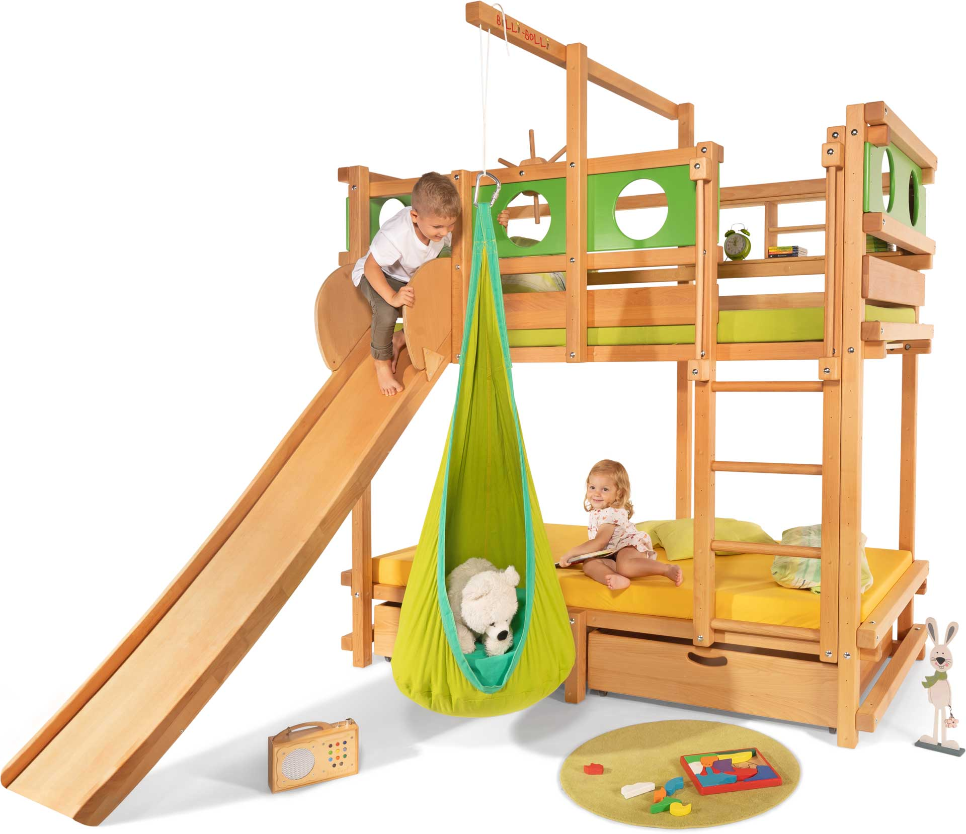 Picture of: Bunk Bed For Kids Buy Online Billi Bolli