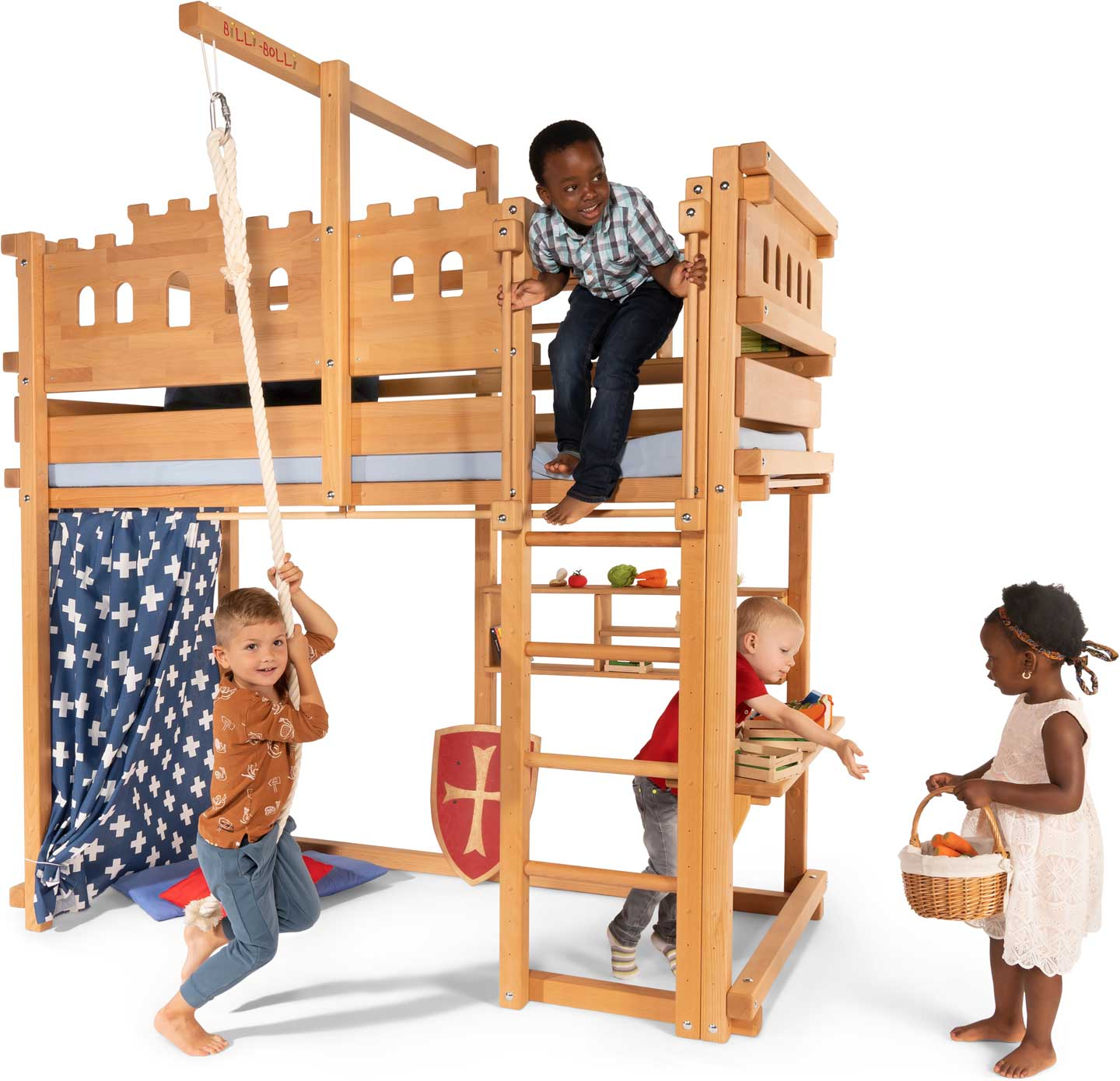 Loft Bed Adjustable by Age. Assembly Height 5