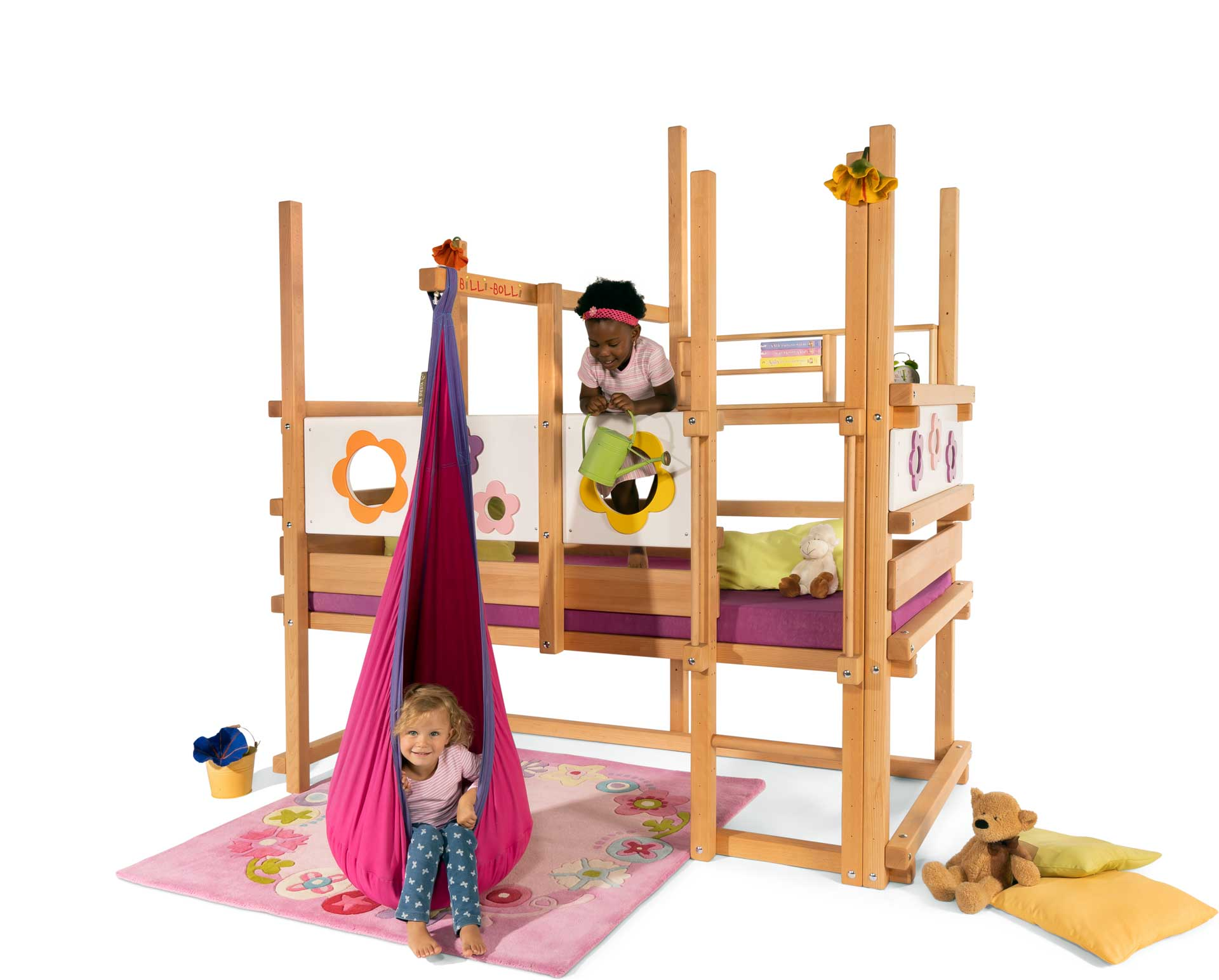 Loft Bed Adjustable By Age For Kids Buy Online Billi Bolli