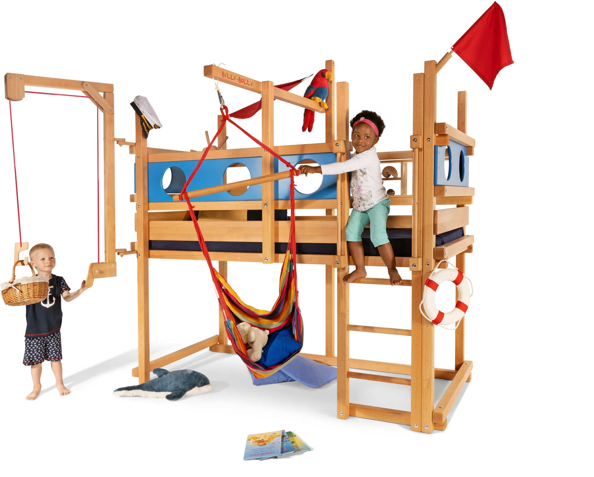 Image of: Loft Bed Adjustable By Age For Kids Buy Online Billi Bolli