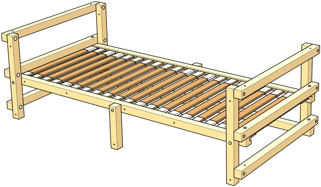 Delivery Low Youth Bed Type C