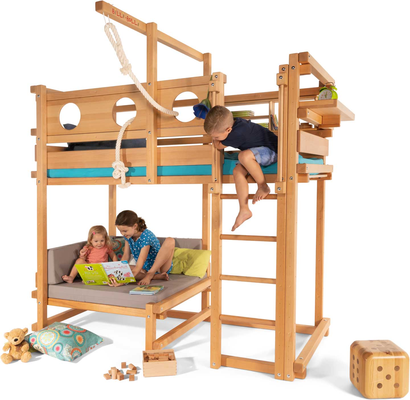 Loft Beds For Children And Teenagers Buy Online Billi Bolli