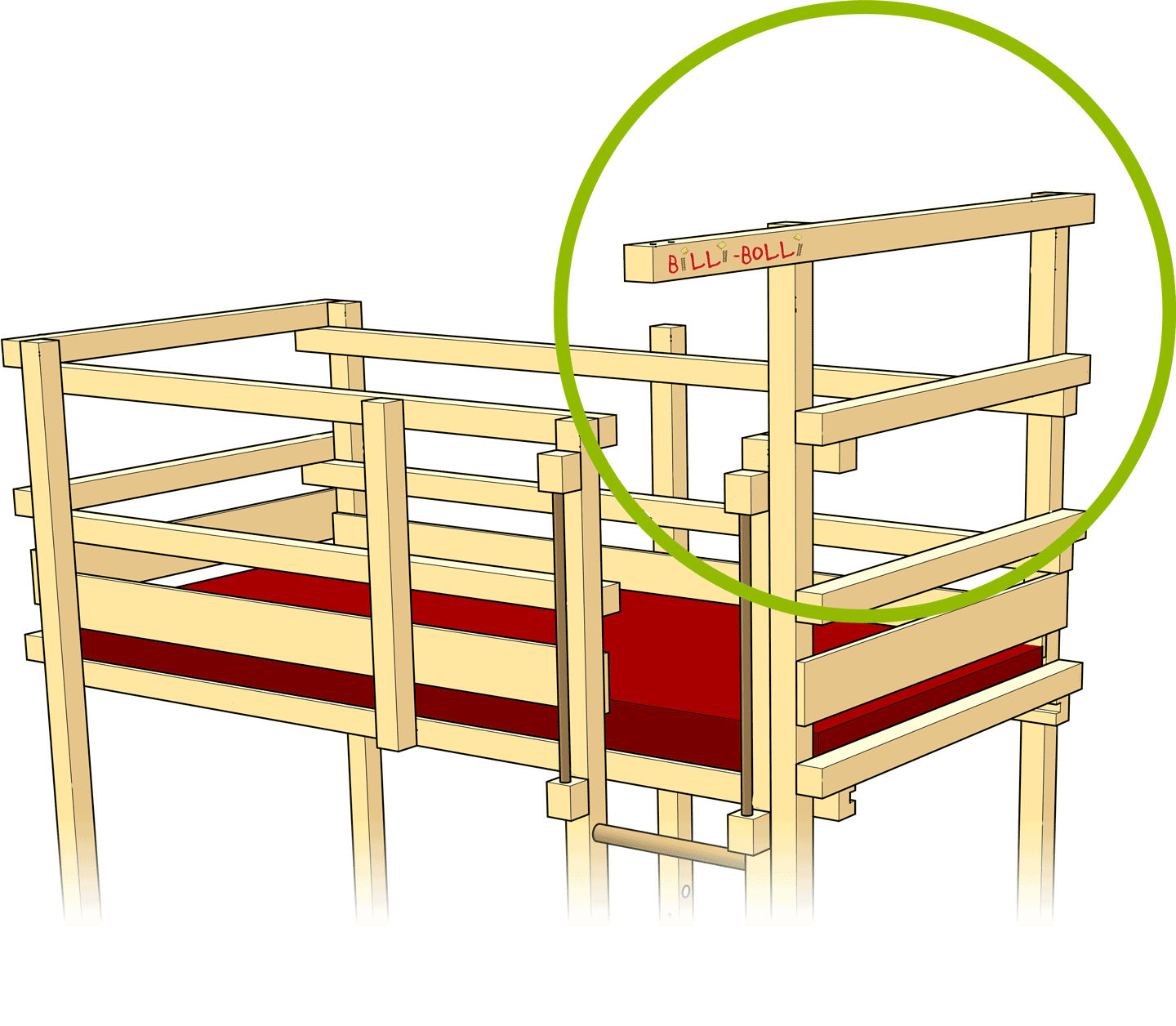 Swing Beam on the Edge