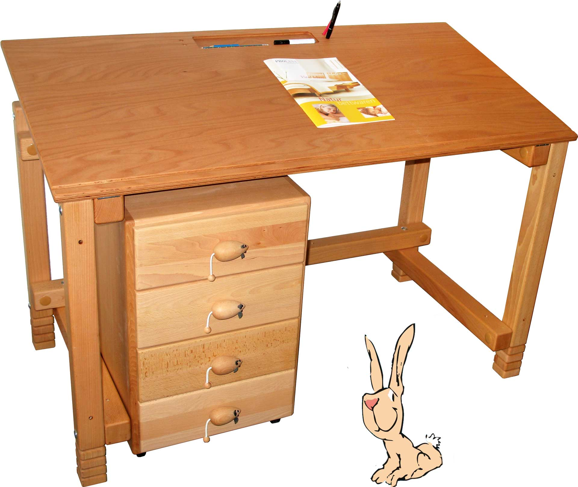 Children's Desk / Mobile File Pedestal