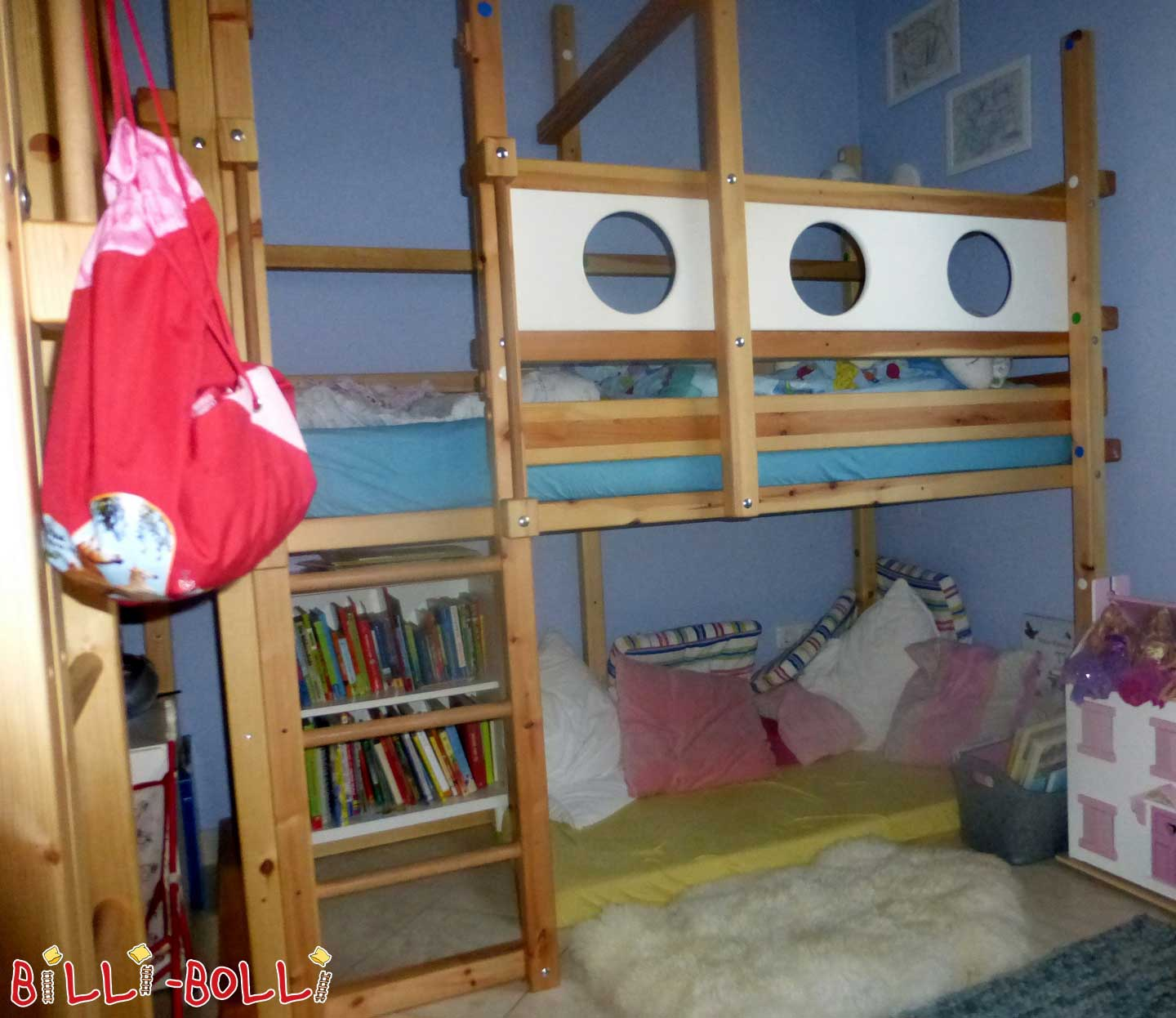 2 identical bunk beds growing with (second hand loft bed)