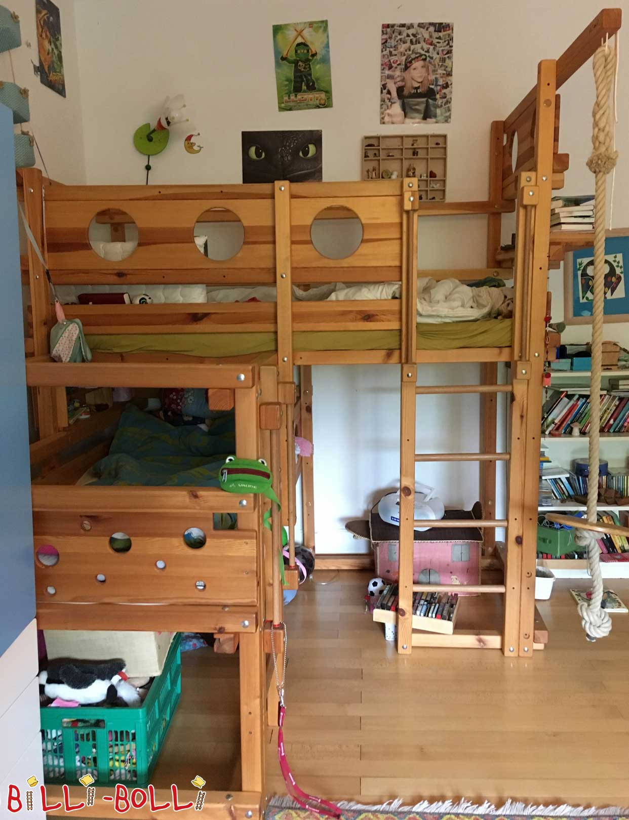 Both-top bed 1A (second hand kids' furniture)