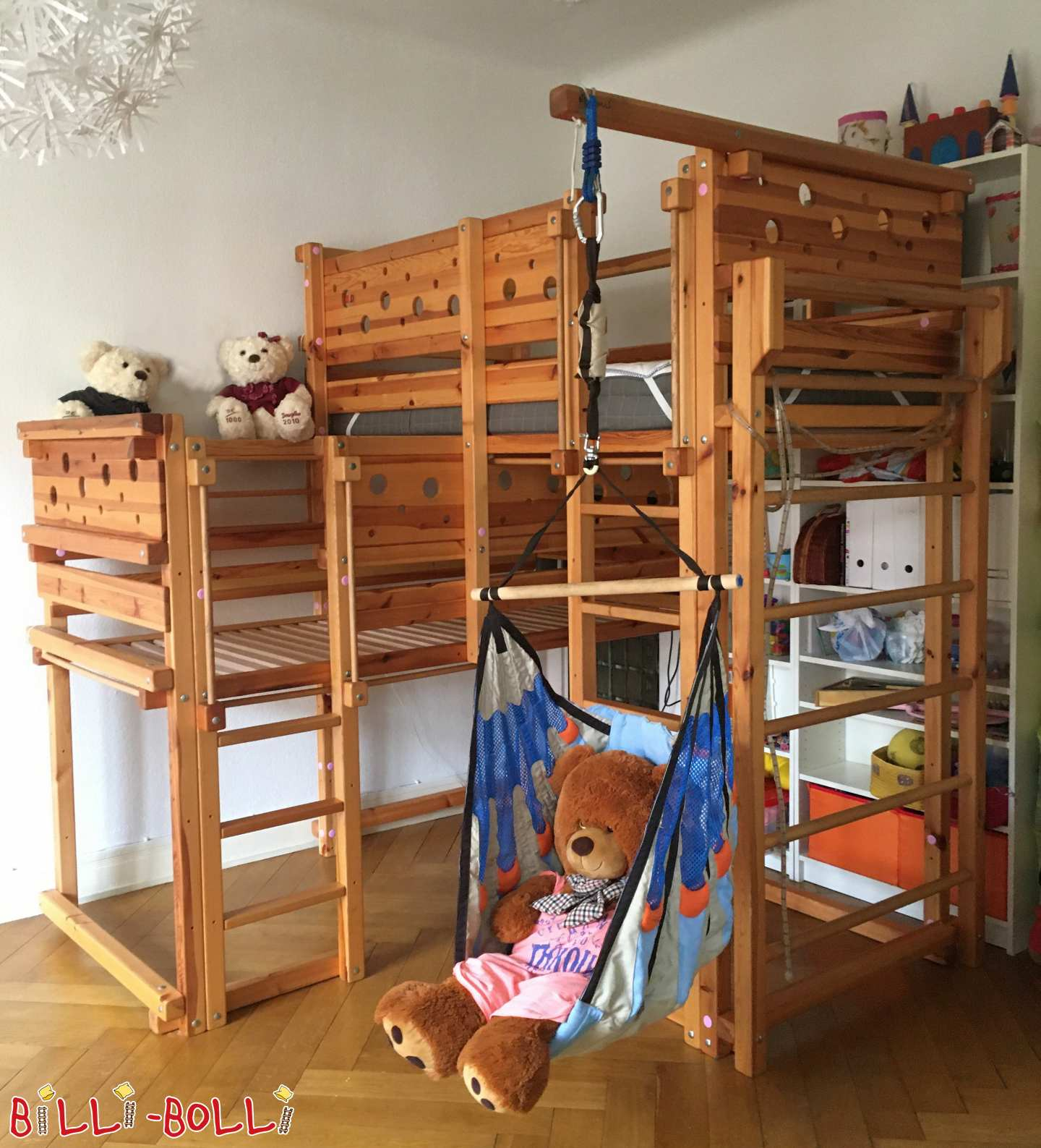 Both-top bed with mouse boards in Hamburg (second hand kids' furniture)