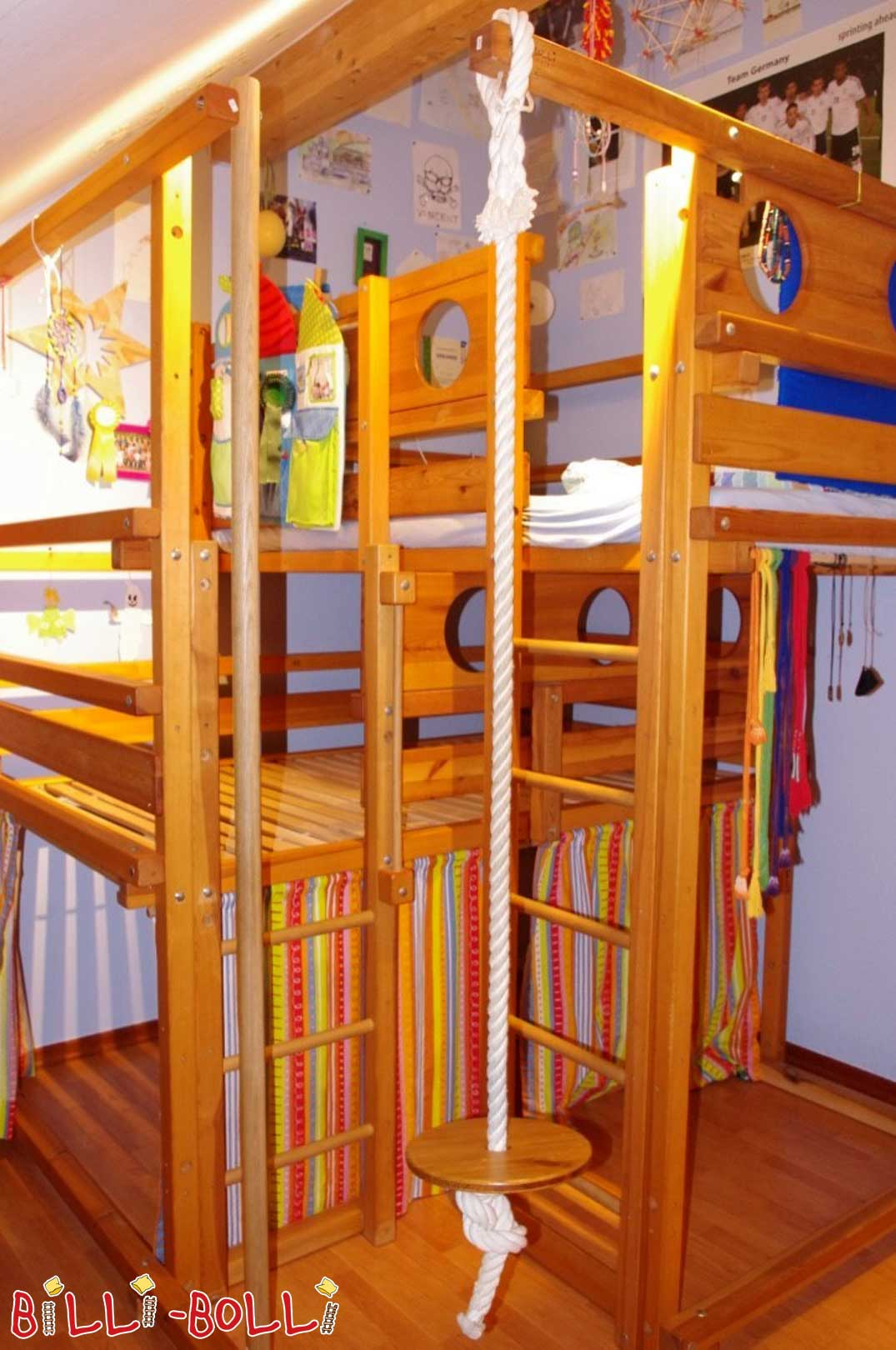 Both up bed type 2A (early type 7), 120 x 200 cm (second hand loft bed)