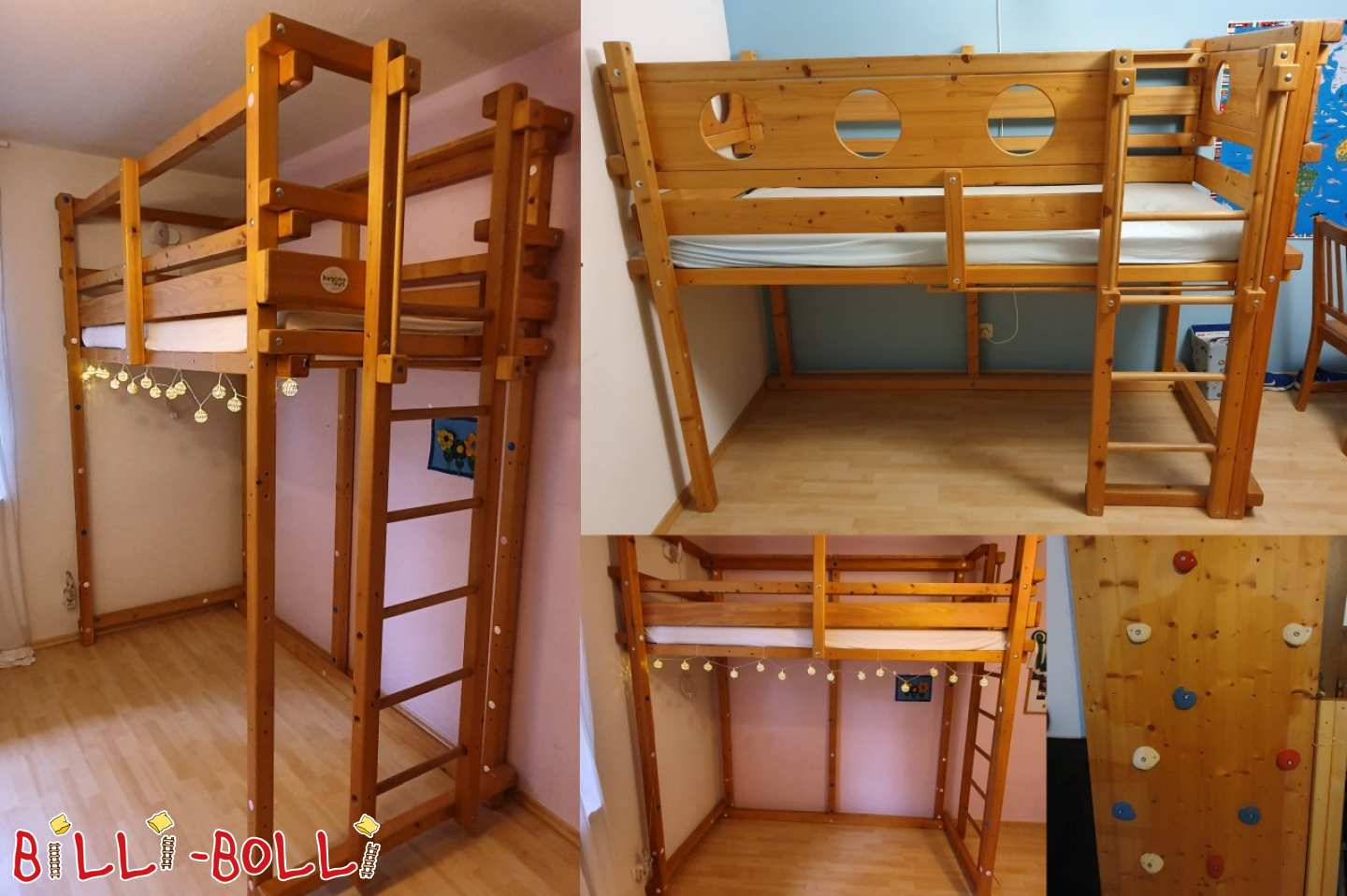 Both-top-bunk-bed-over-corner from spruce in Munich (second hand loft bed)