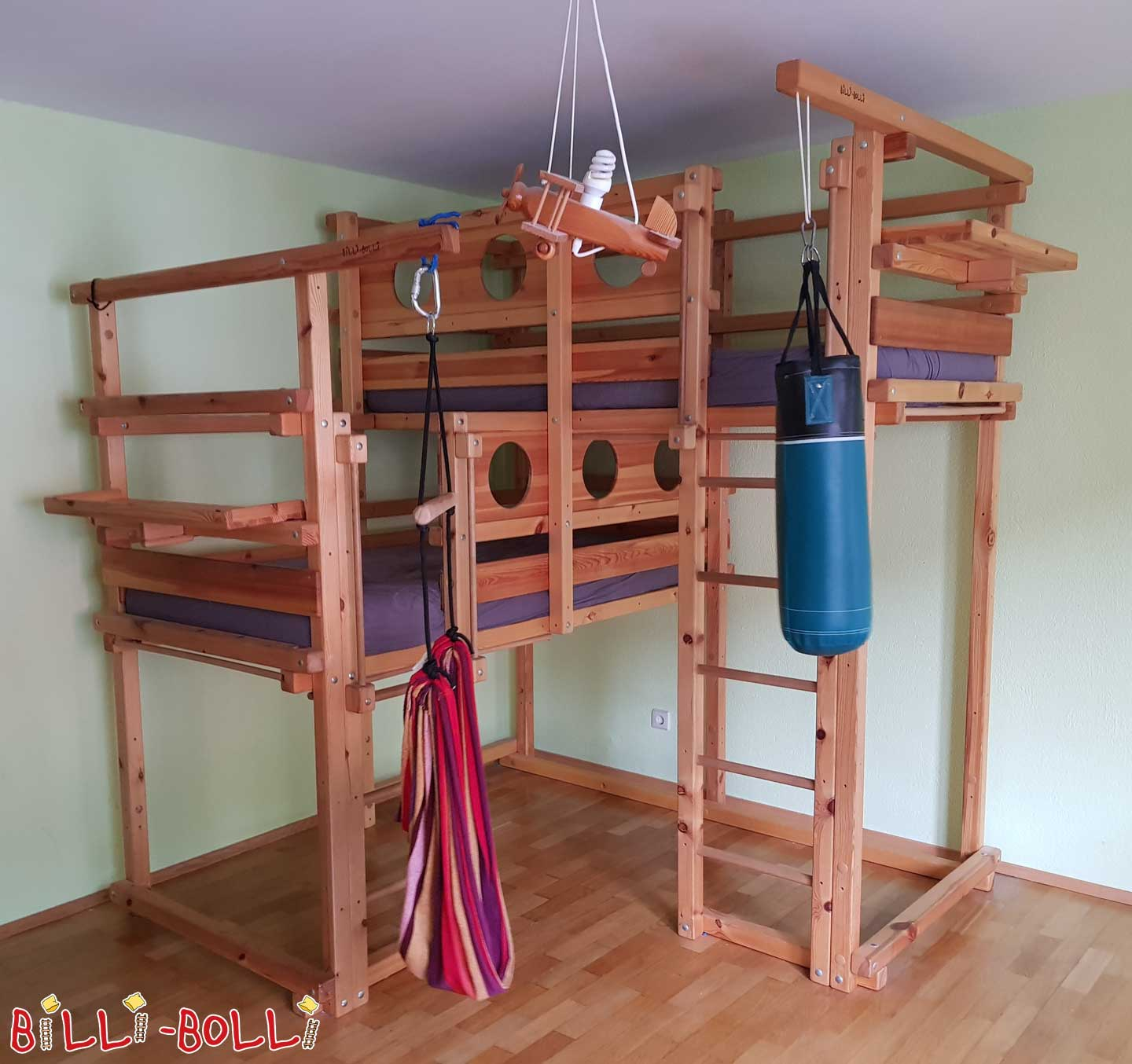 Both top-over corner 2A (second hand bunk bed)