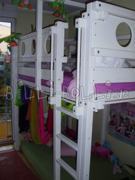 Billi-Bolli adventure high bed jaw 100 x 200cm (second hand loft bed)