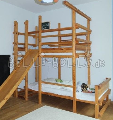 Billi-Bolli adventure bed bunk bed left side-by-side (second hand bunk bed)