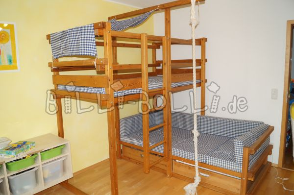 Billi-Bolli bunk bed (above corner) (second hand bunk bed)