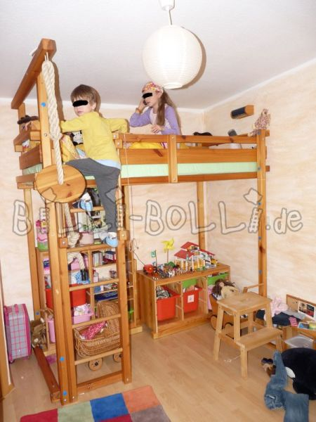 Billi-Bolli with growing high bed (second hand loft bed)