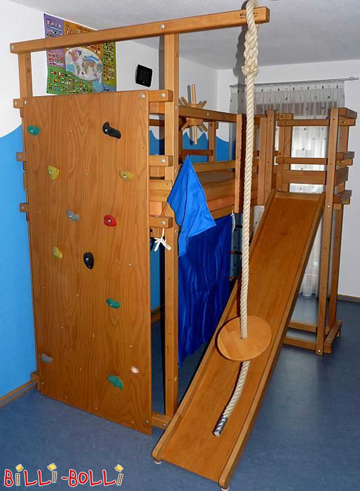 Secondhand page 76 billi bolli kids furniture for Pirate bed with slide