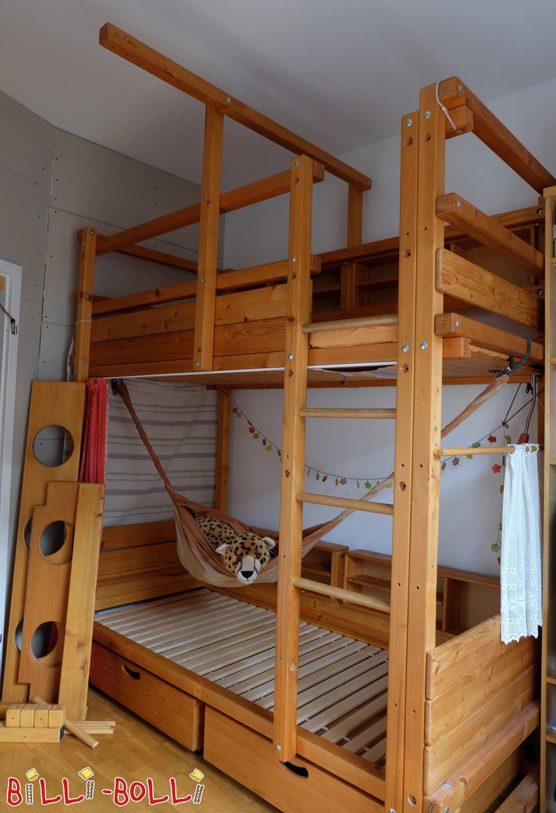 "Bunk bed 90x200 ""FIStudent"" with growing bed in Frankfurt am Main (second hand bunk bed)"