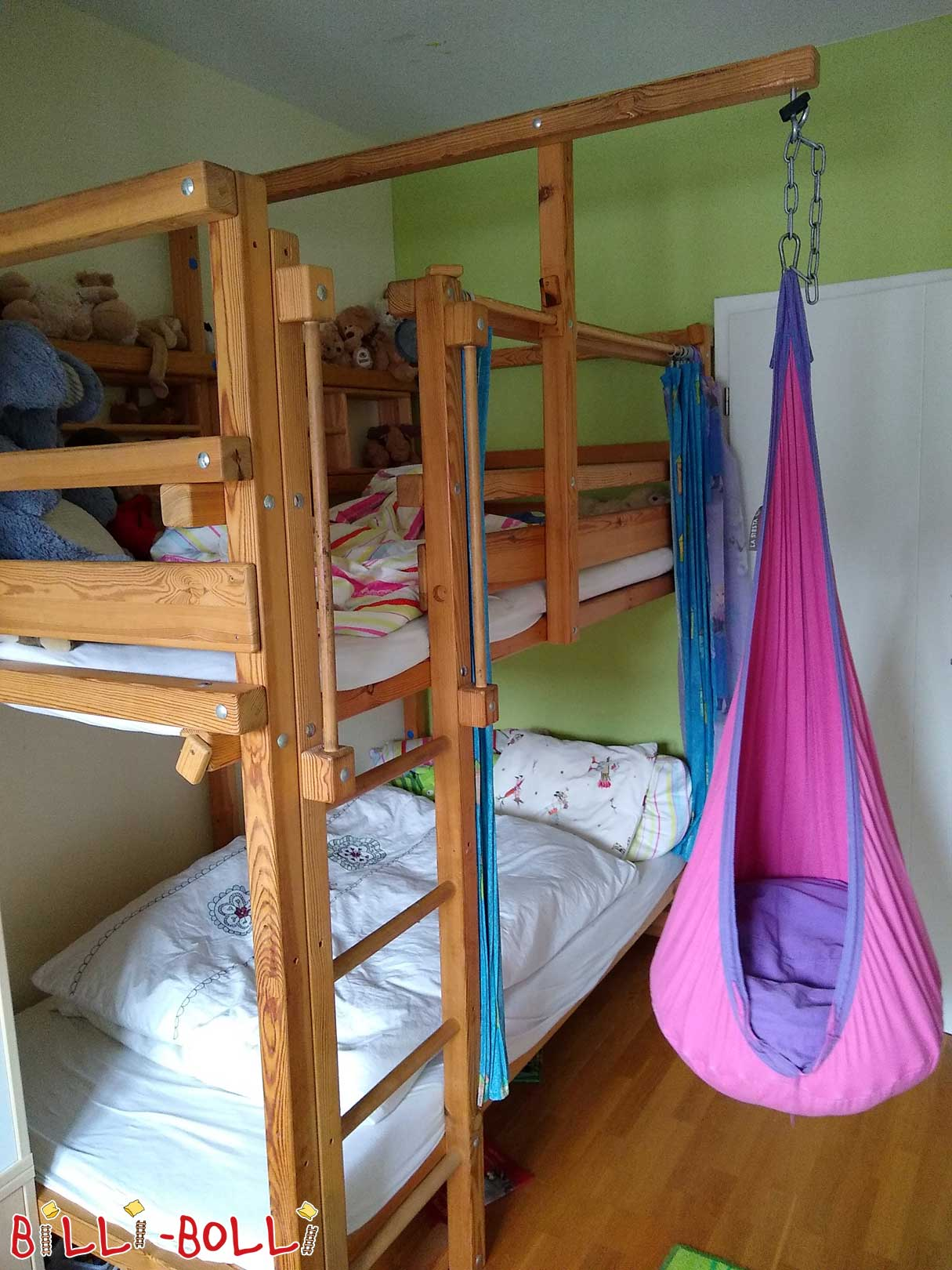 Bunk bed made of pine in Frankfurt (second hand loft bed)