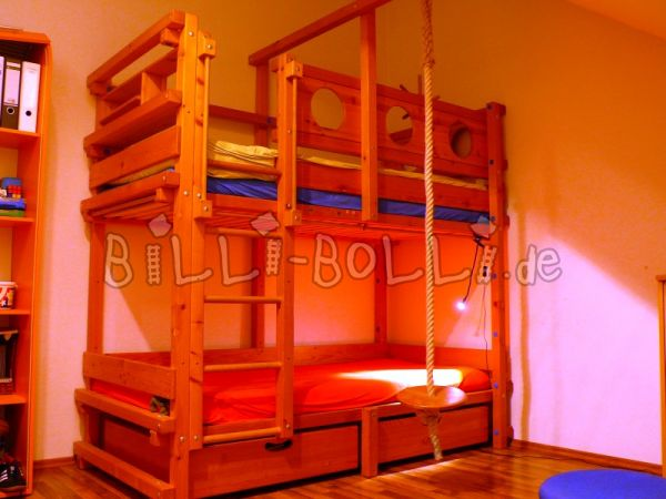 Bunk bed in pine (second hand loft bed)