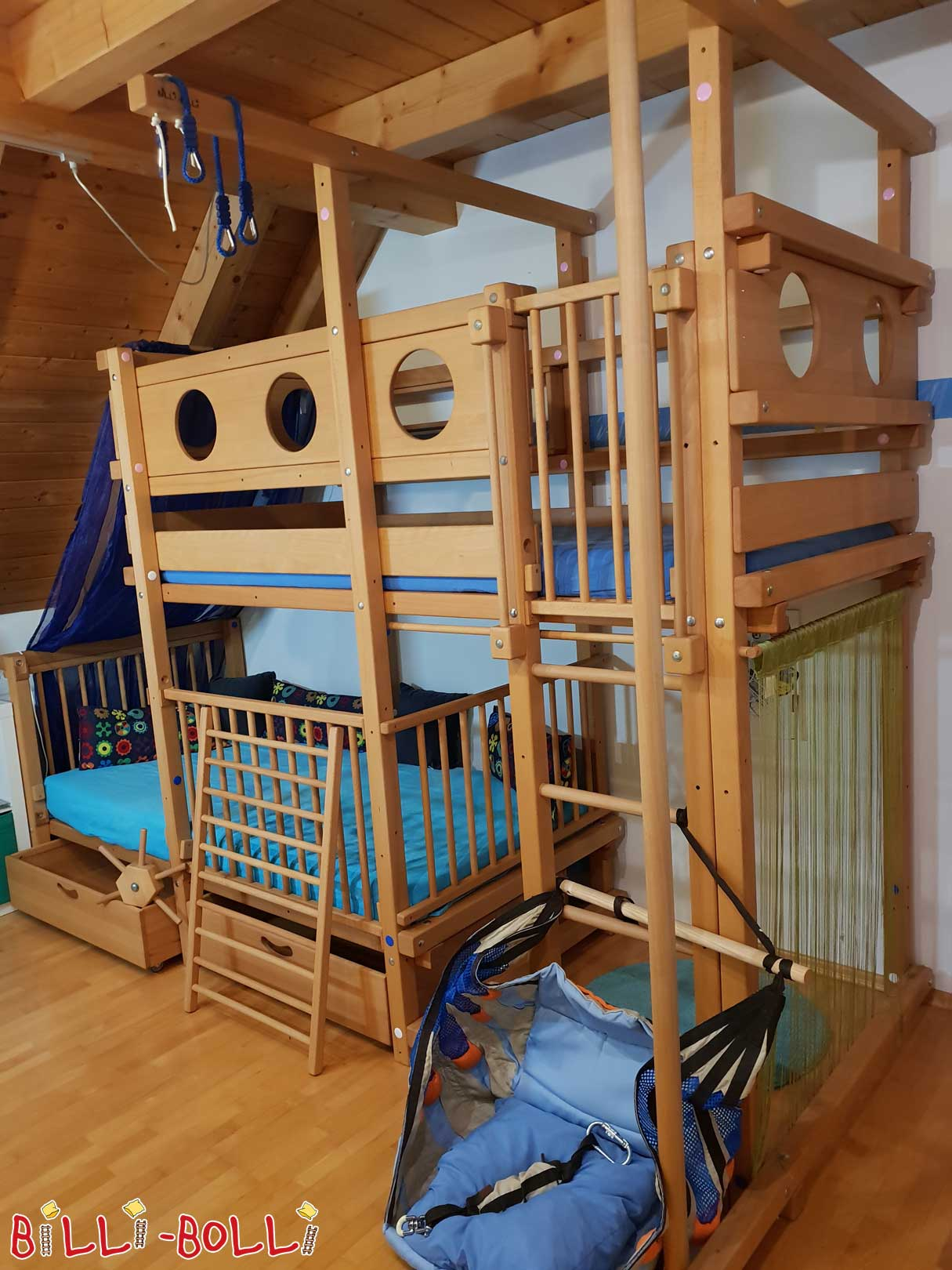 Bunk beds for 2 children (second hand bunk bed)