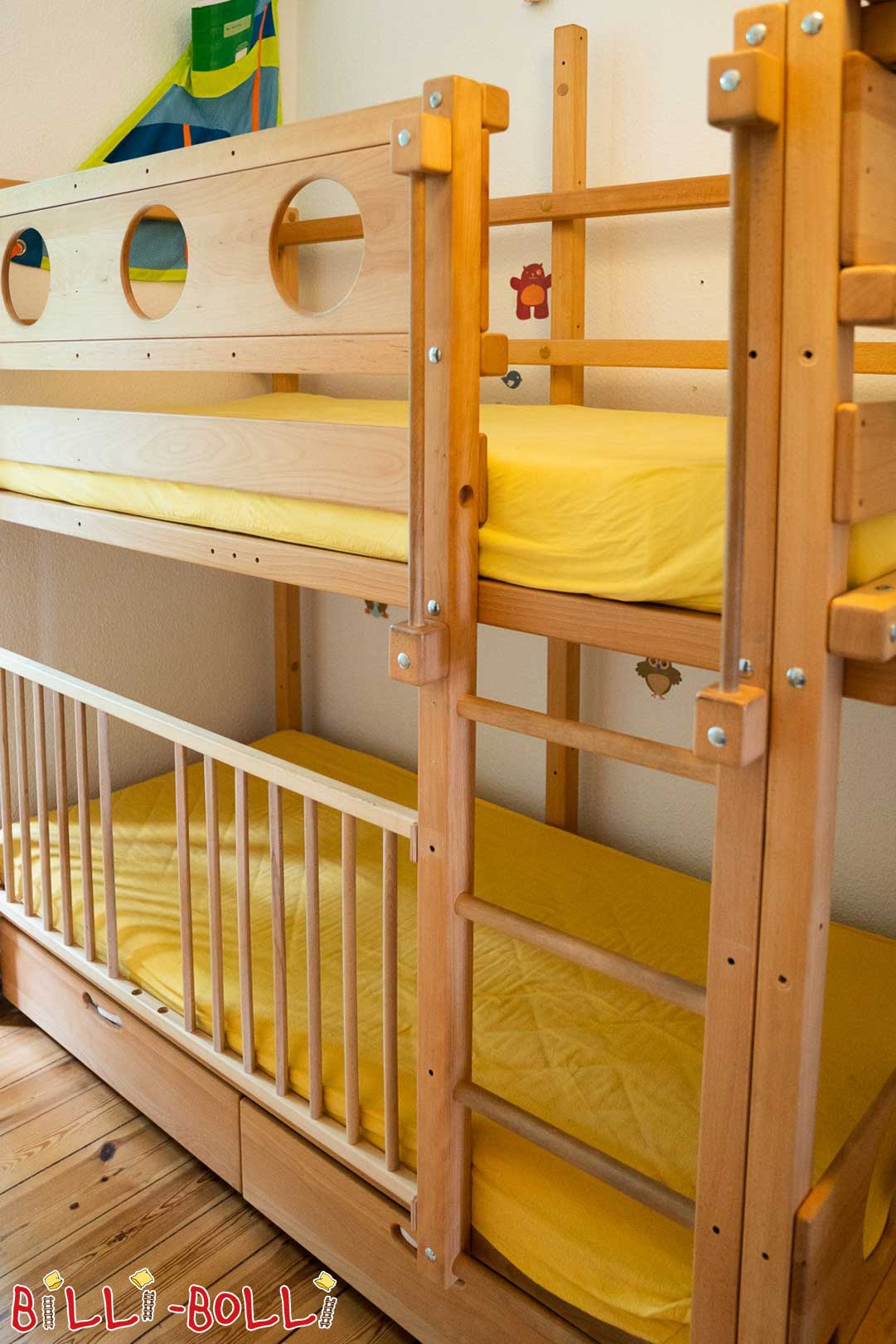 Bunk bed incl. baby twins (second hand loft bed)