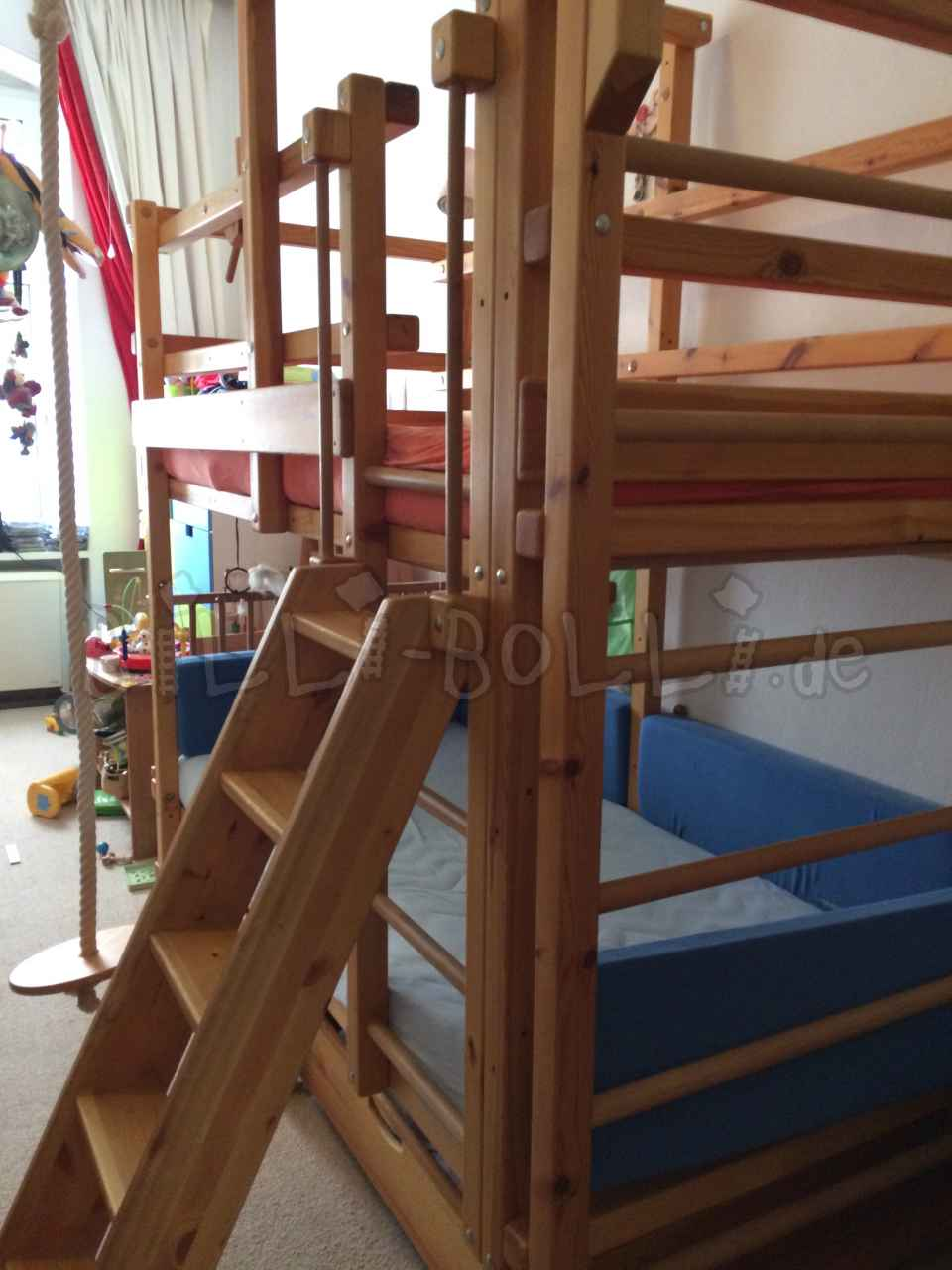 Bunk bed pine oiled (second hand bunk bed)