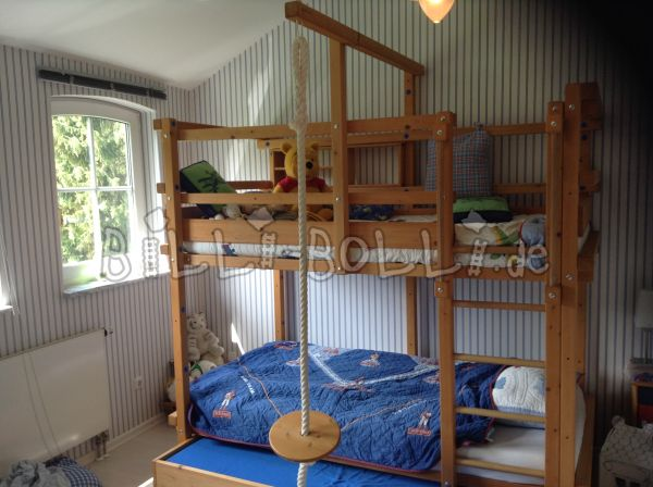Bunk bed with bunk bed (second hand bunk bed)