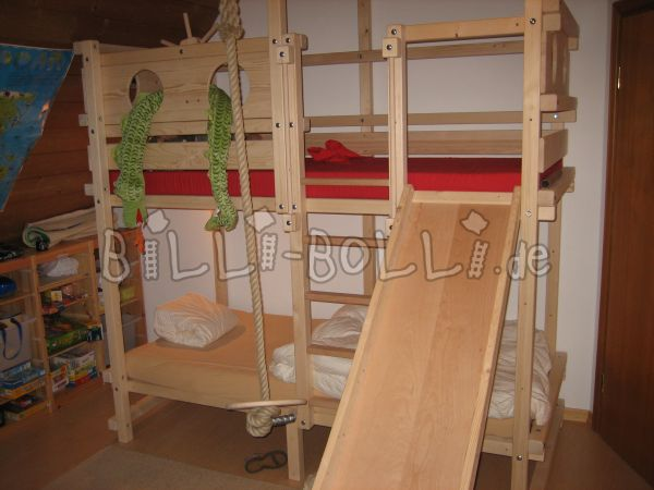 Bunk bed with accessories (second hand bunk bed)
