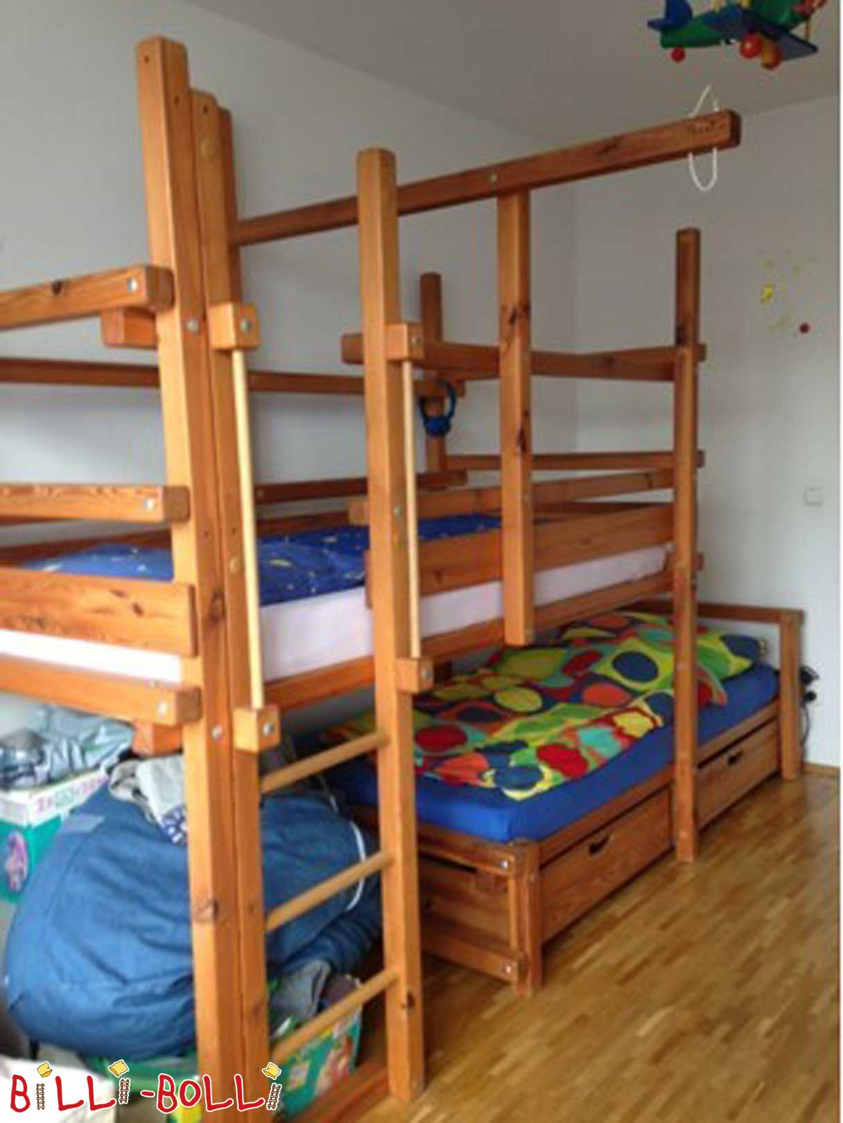 Bunk bed-side places (second hand bunk bed)