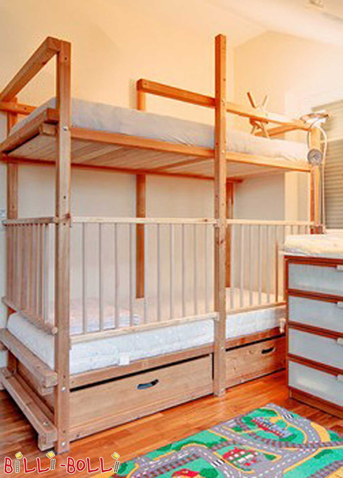 Bunk bed of Gullibo (second hand bunk bed)