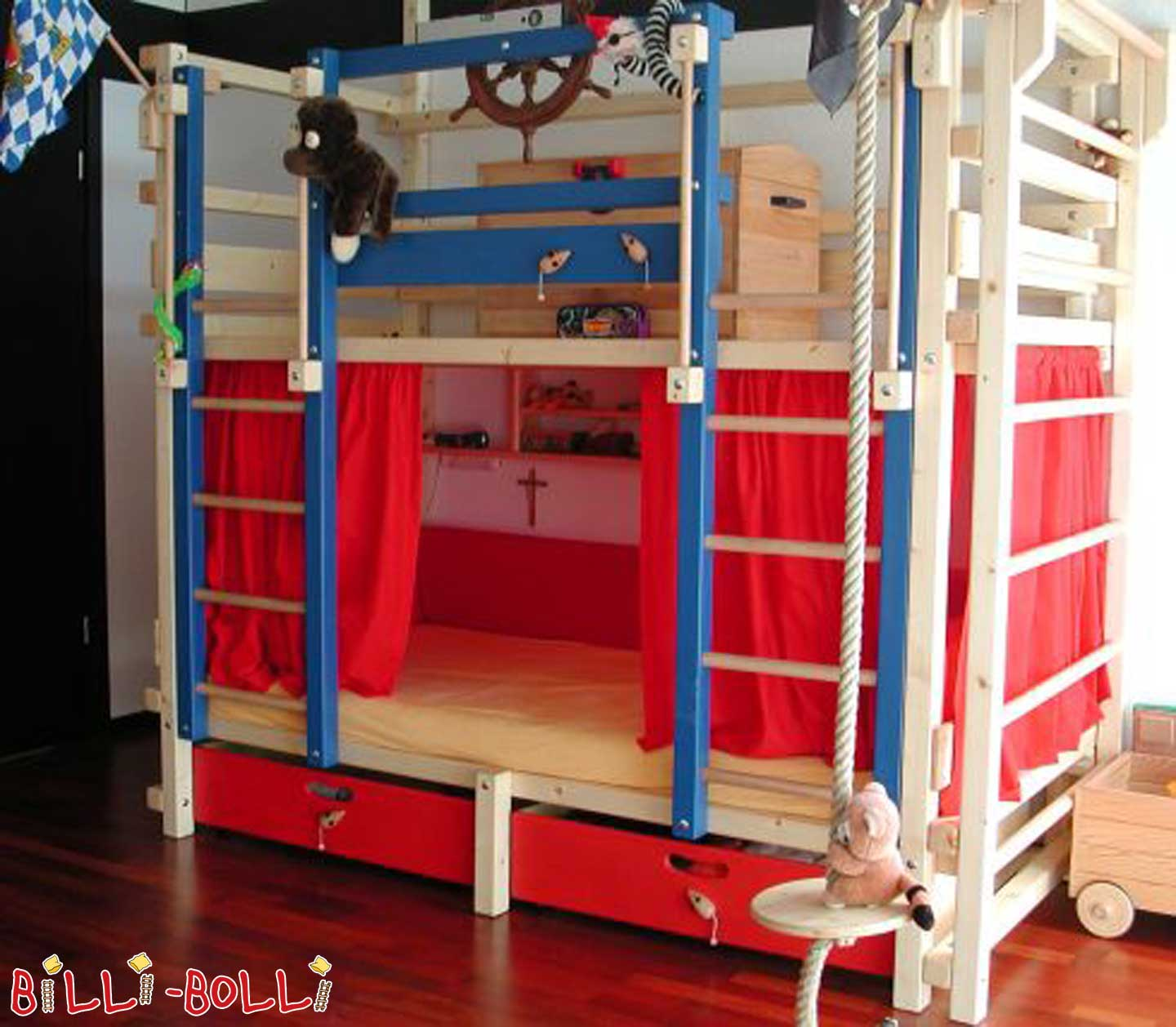 Bunk bed custom built in 2001 original Billi-Boll (second hand bunk bed)