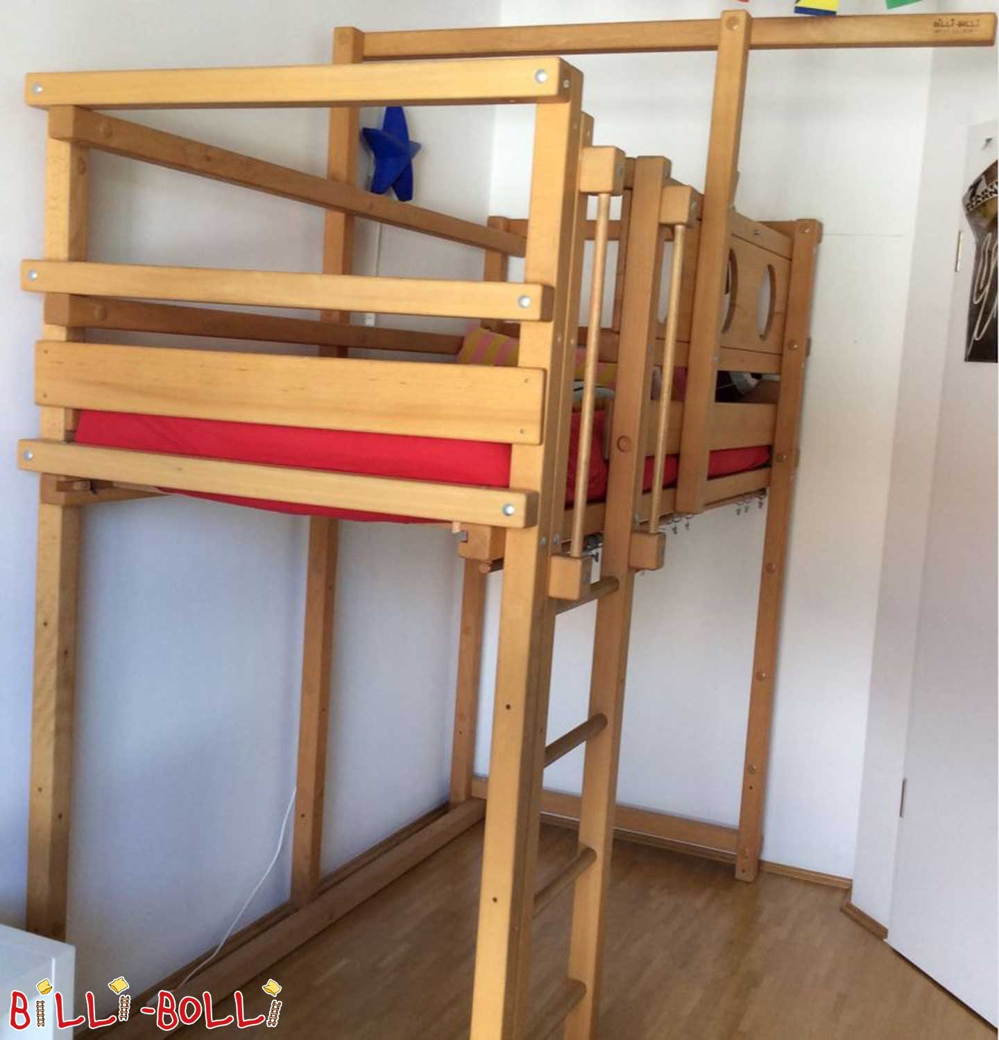 For adventurers, pirates and pirates! (second hand loft bed)